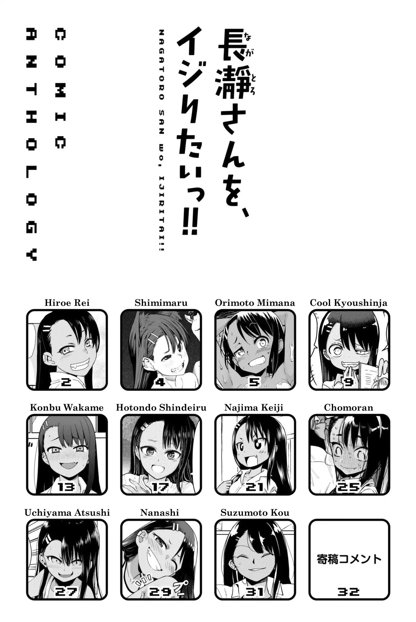 Please Don't Bully Me, Nagatoro Comic Anthology Chapter 1 page 2 - Mangakakalot