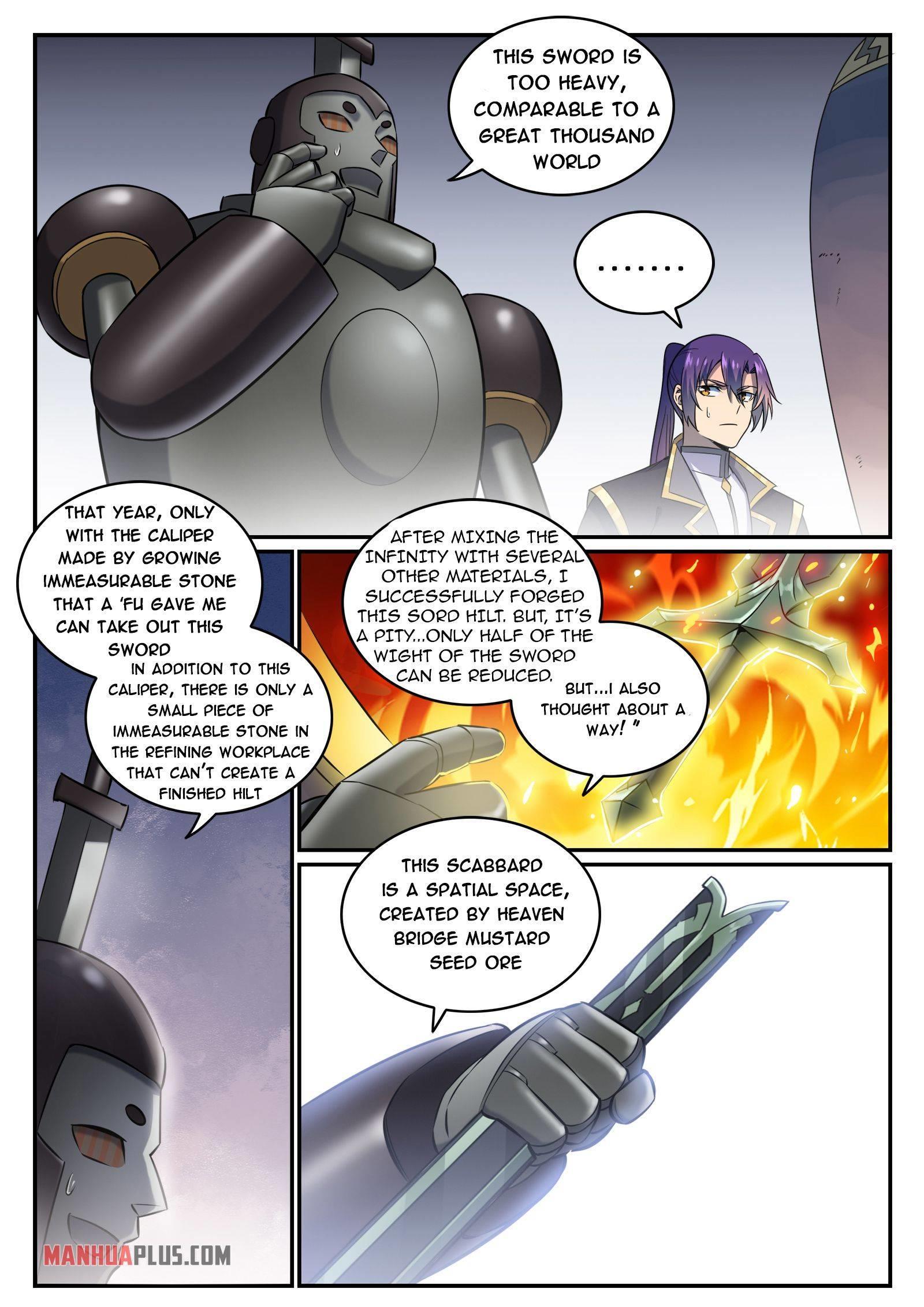 Apotheosis Chapter 780 page 8 - Mangakakalots.com