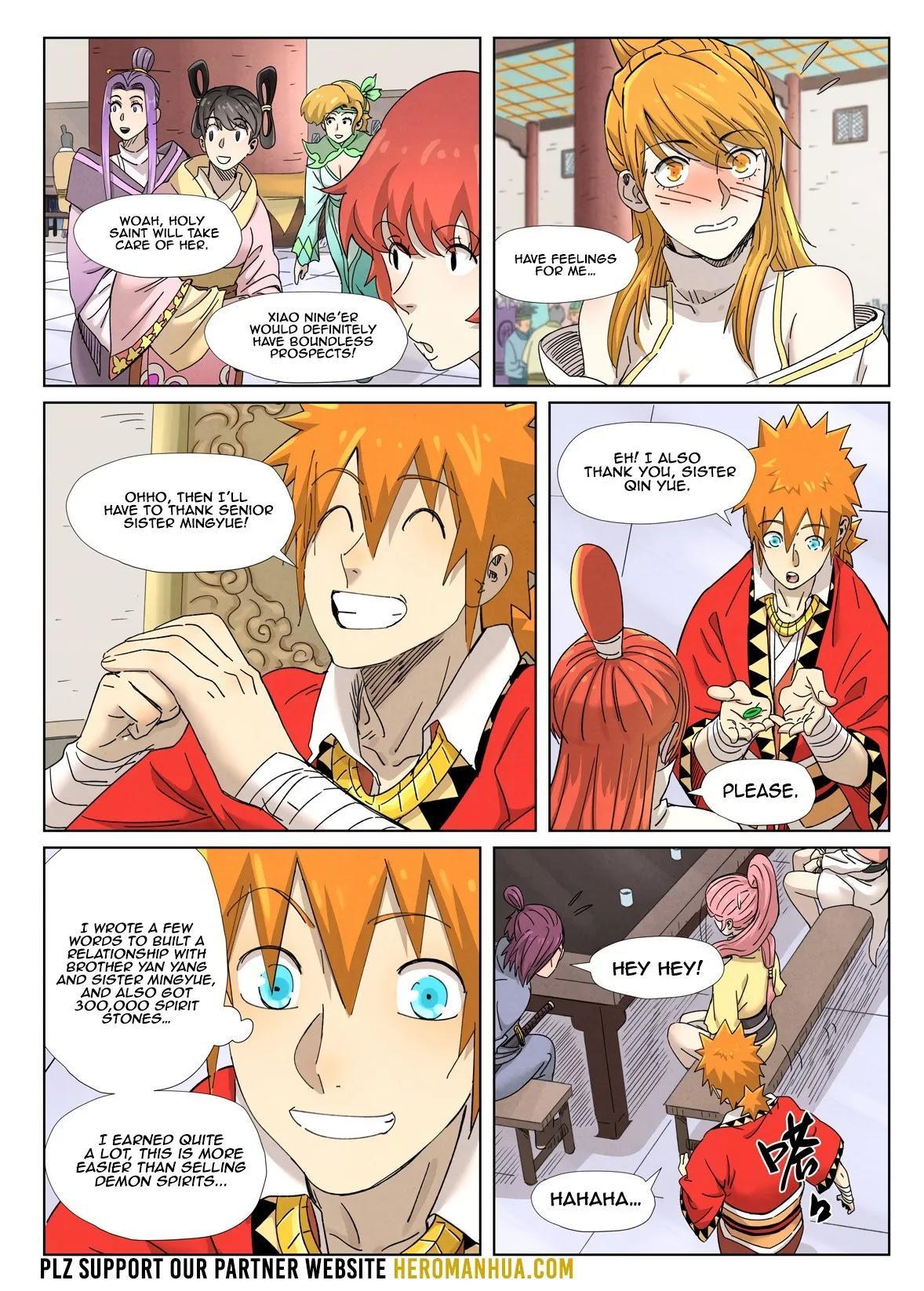 Tales Of Demons And Gods Chapter 342.1 page 11 - Mangakakalot