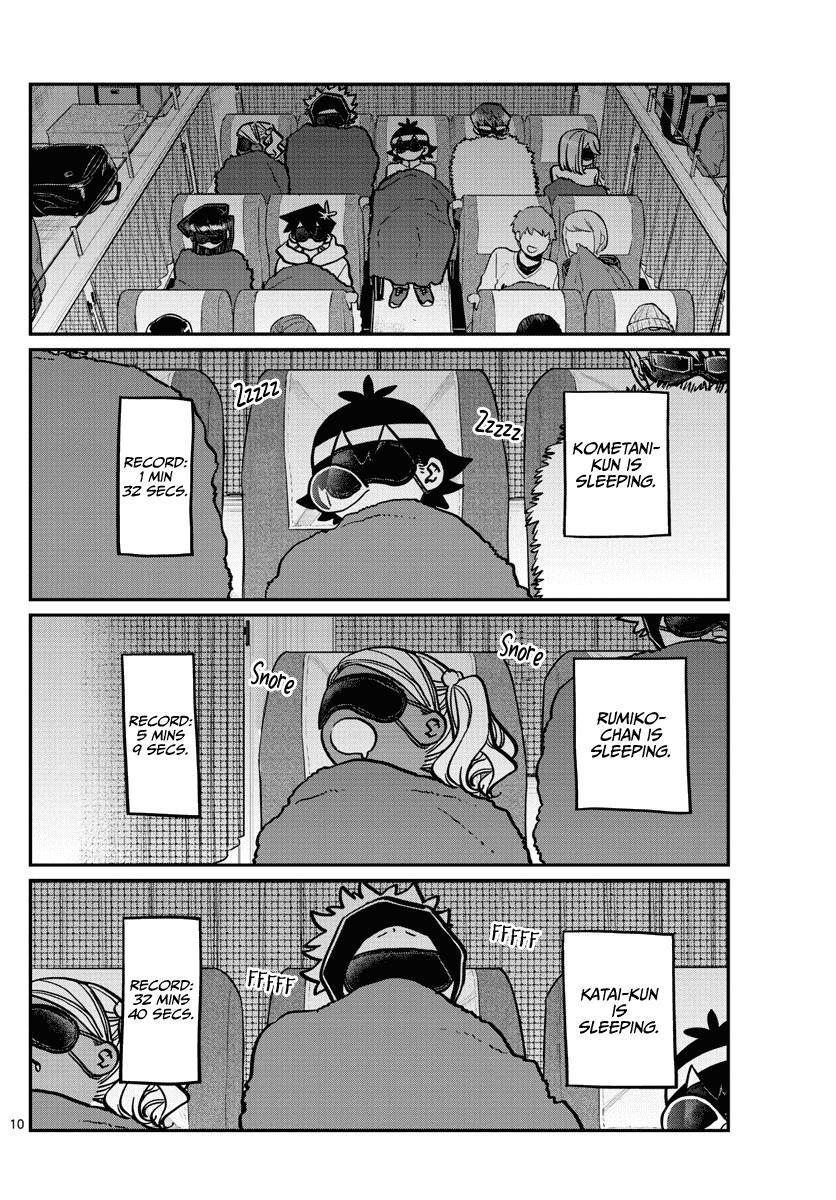 Komi-San Wa Komyushou Desu Chapter 260: Can't Sleep page 10 - Mangakakalot
