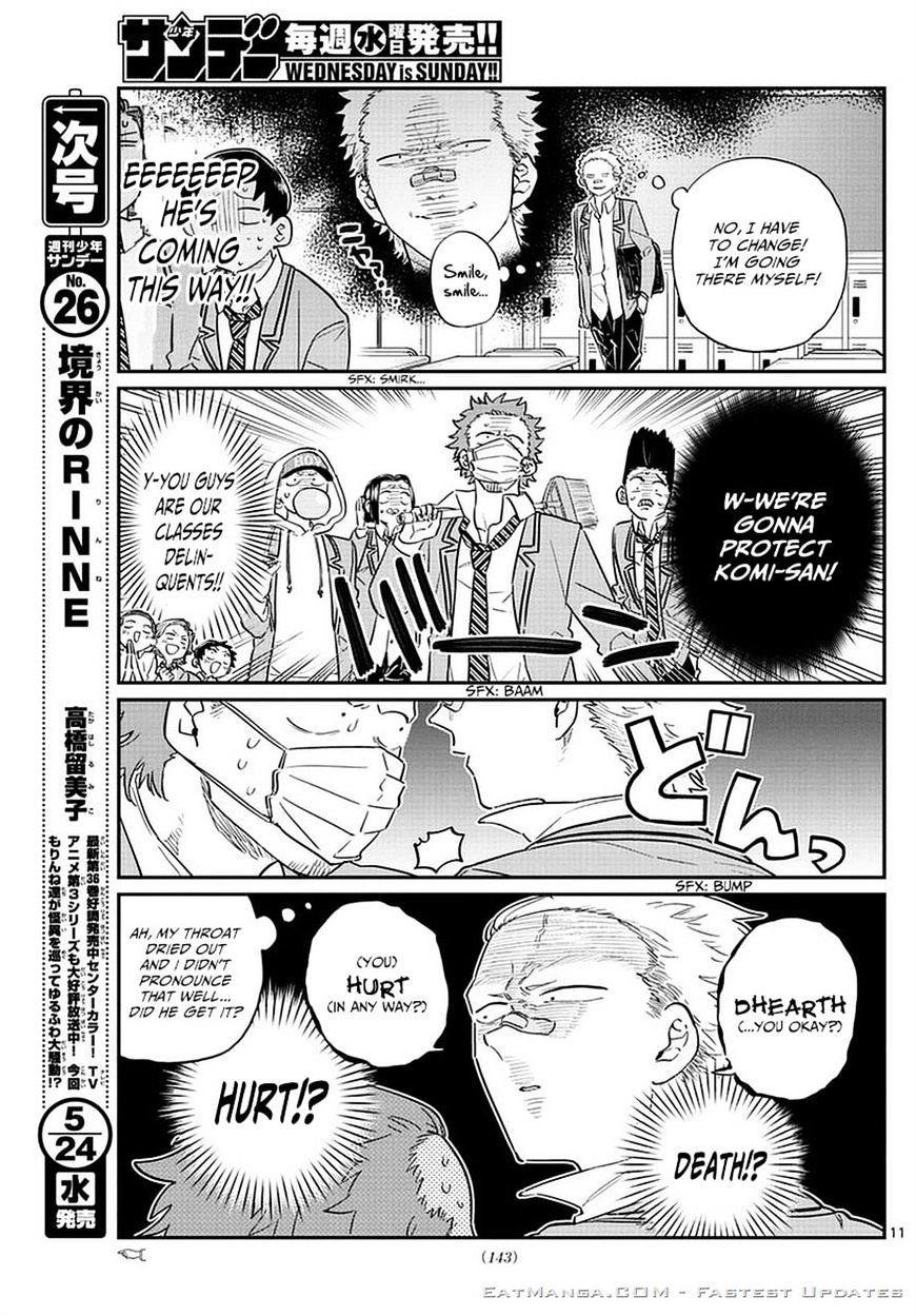 Komi-San Wa Komyushou Desu Vol.6 Chapter 76: A Delinquent page 11 - Mangakakalot