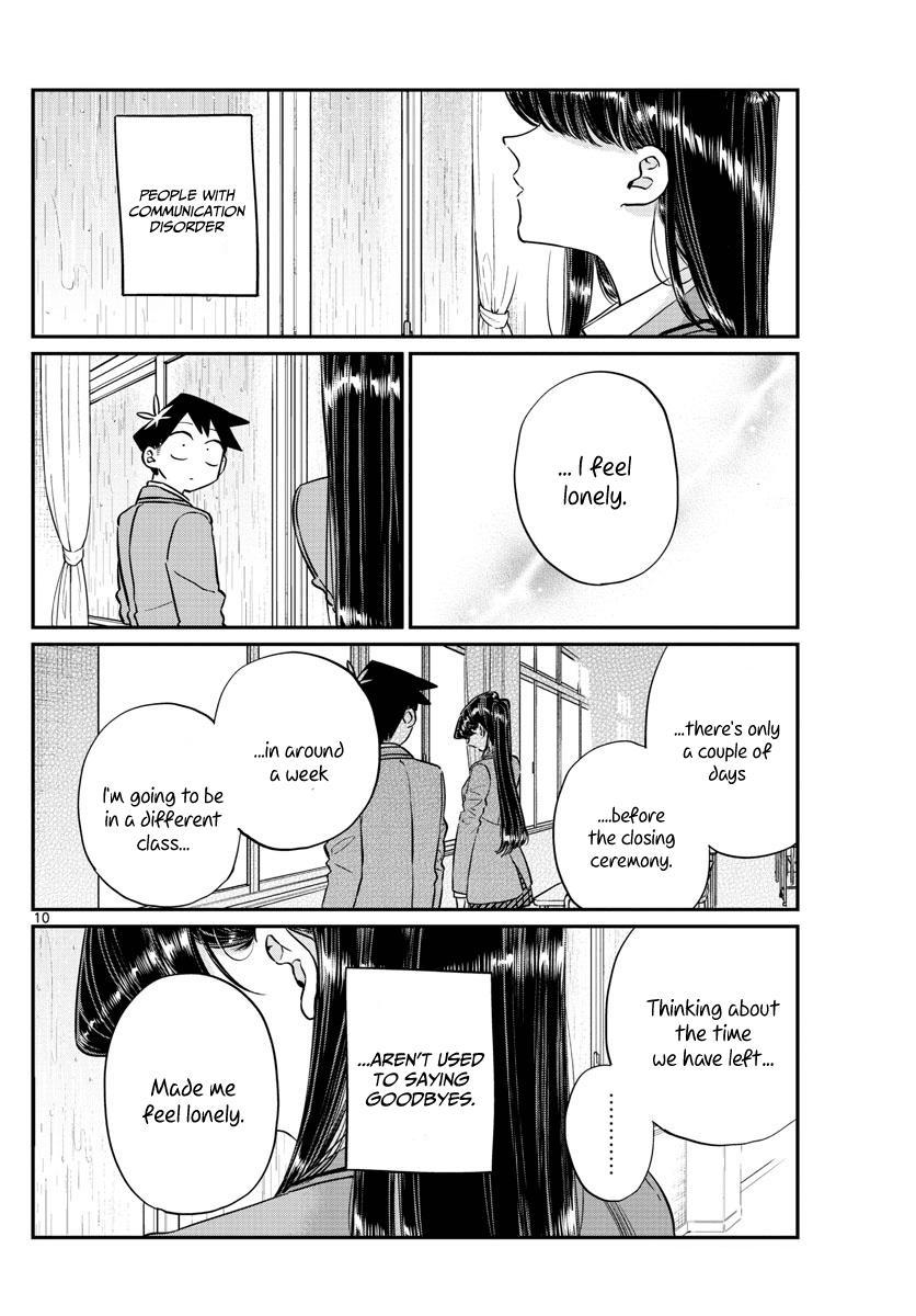 Komi-San Wa Komyushou Desu Vol.10 Chapter 129: One Year page 10 - Mangakakalot