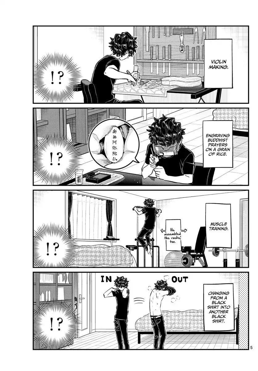 Komi-San Wa Komyushou Desu Vol.13 Chapter 173: Rei-Chan's Stalking page 6 - Mangakakalot