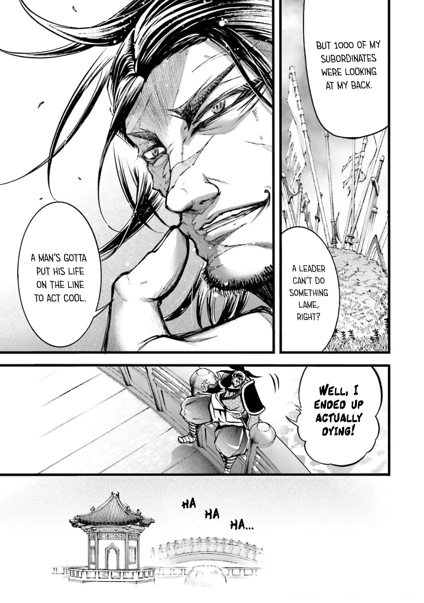 Shuumatsu No Valkyrie: The Legend Of Lu Bu Fengxian Chapter 8 page 34 - Mangakakalots.com