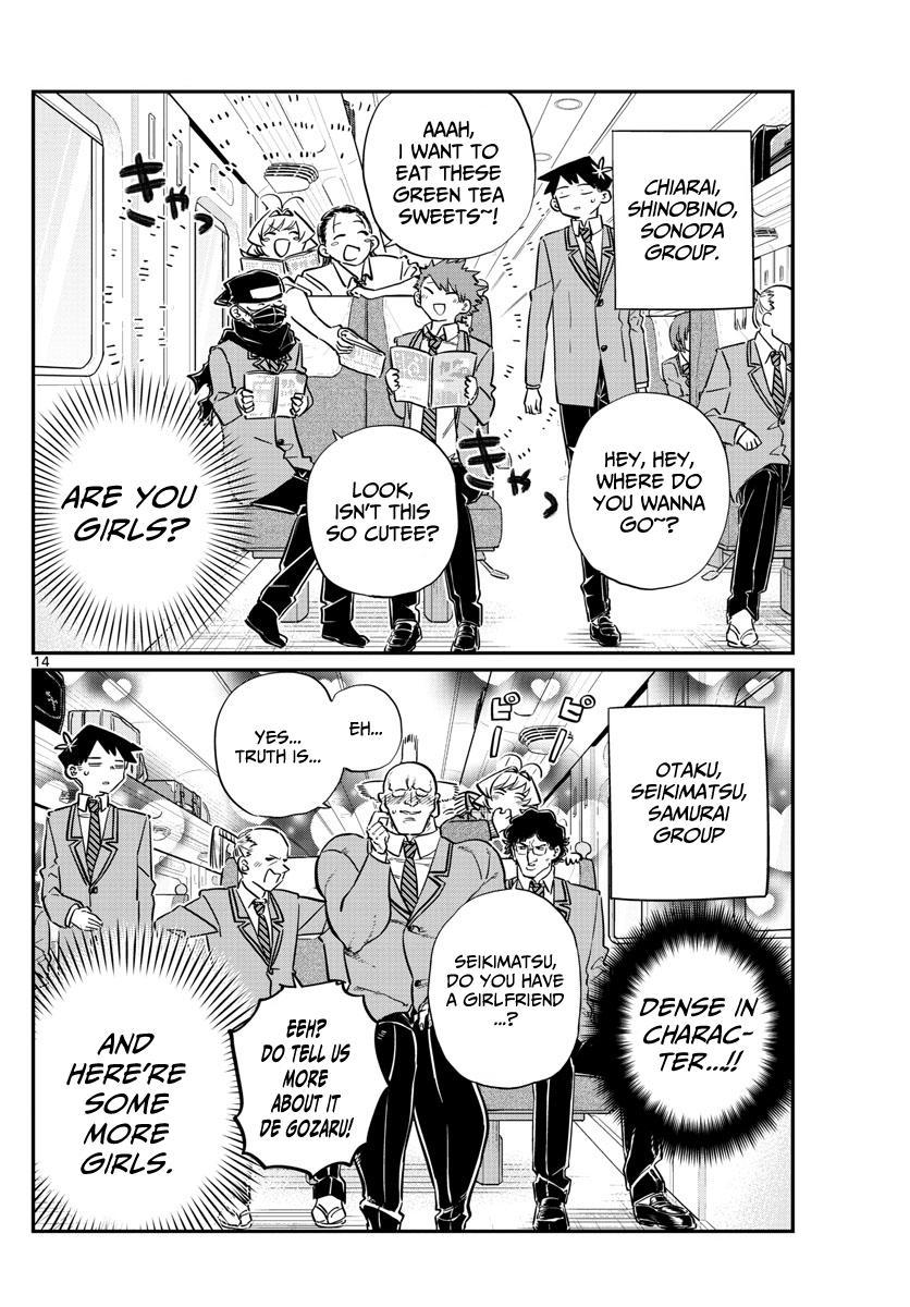 Komi-San Wa Komyushou Desu Vol.8 Chapter 104: The Field Trip page 7 - Mangakakalot