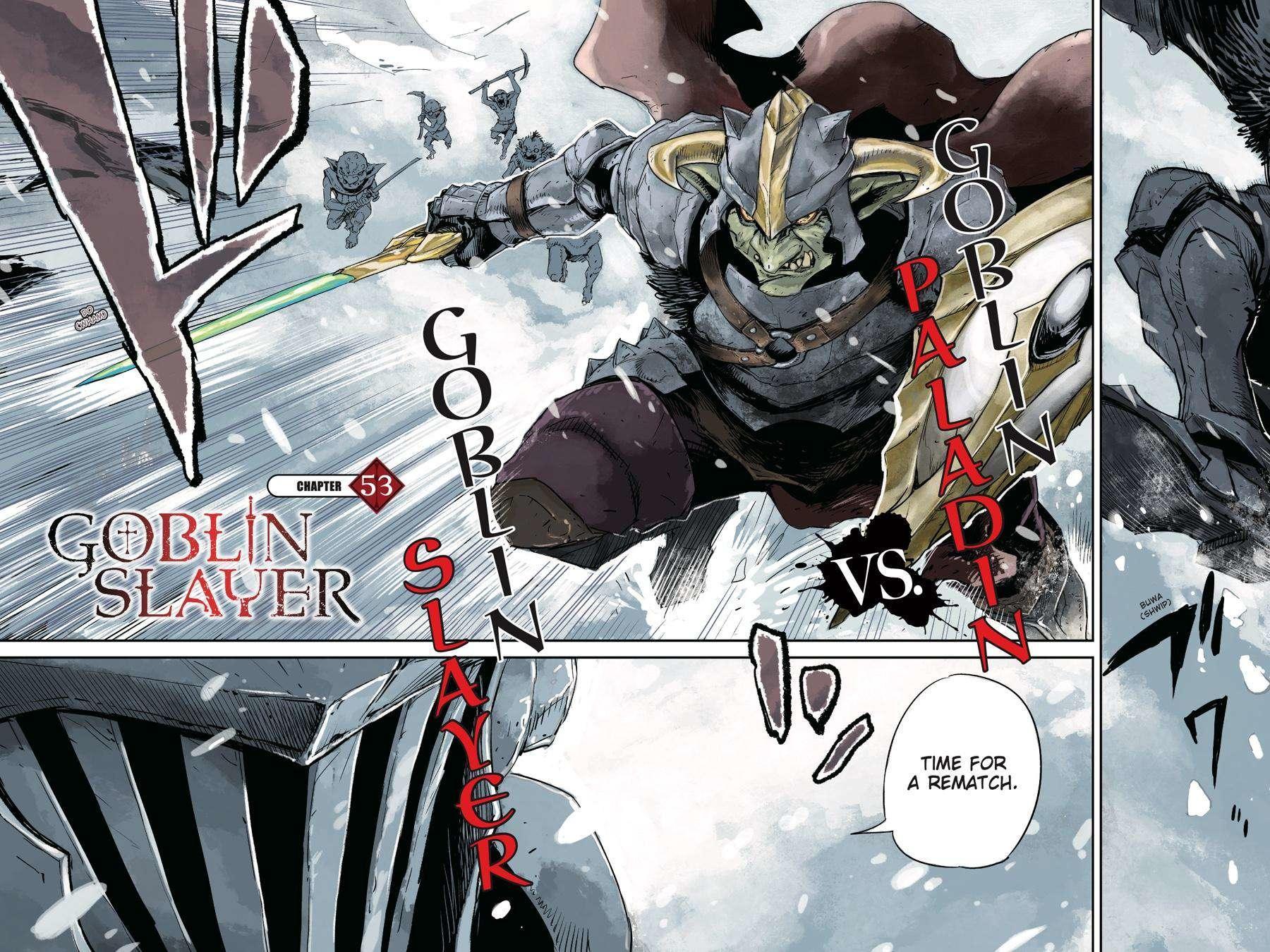 Goblin Slayer Chapter 53 page 3 - Mangakakalot