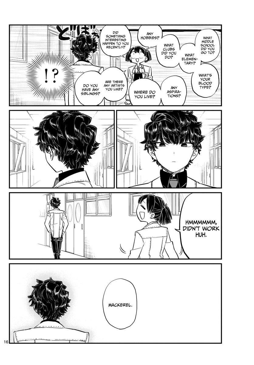 Komi-San Wa Komyushou Desu Vol.10 Chapter 133: Komi-Kun page 16 - Mangakakalot