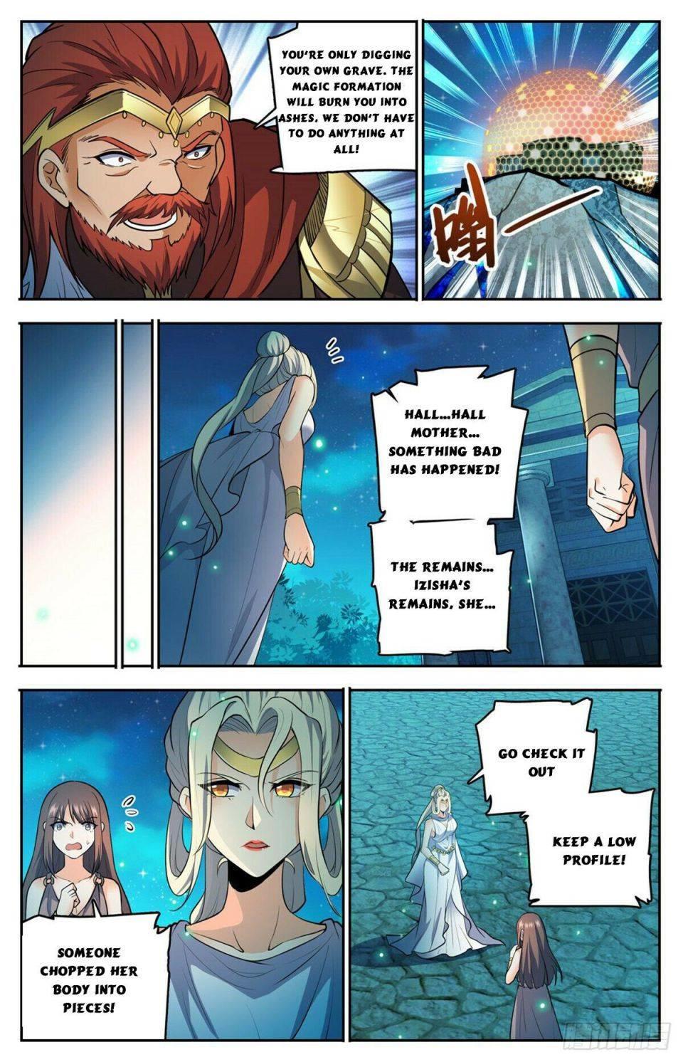 Versatile Mage Chapter 754 page 8 - Mangakakalot