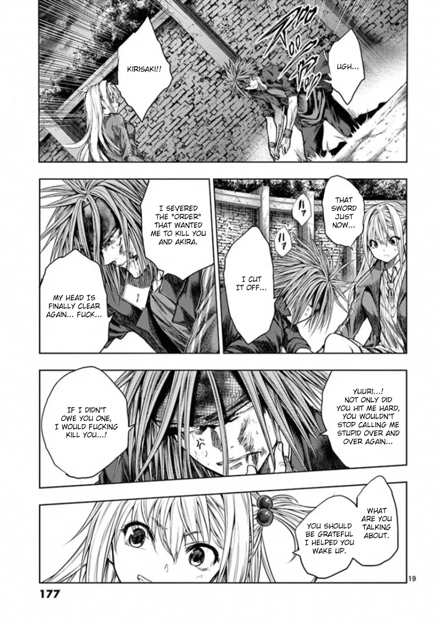 Deatte 5 Byou De Battle Chapter 141: Seven Turns, Eight Falls page 18 - Mangakakalots.com
