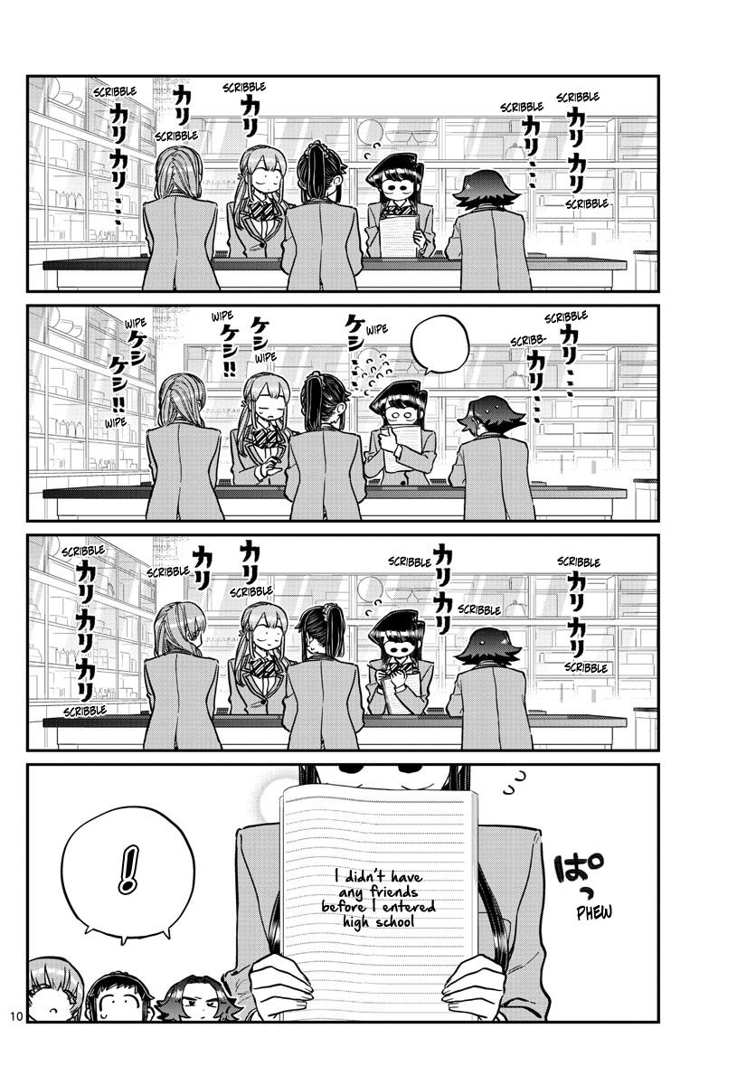 Komi-San Wa Komyushou Desu Chapter 252: Mixer? 2 page 10 - Mangakakalot