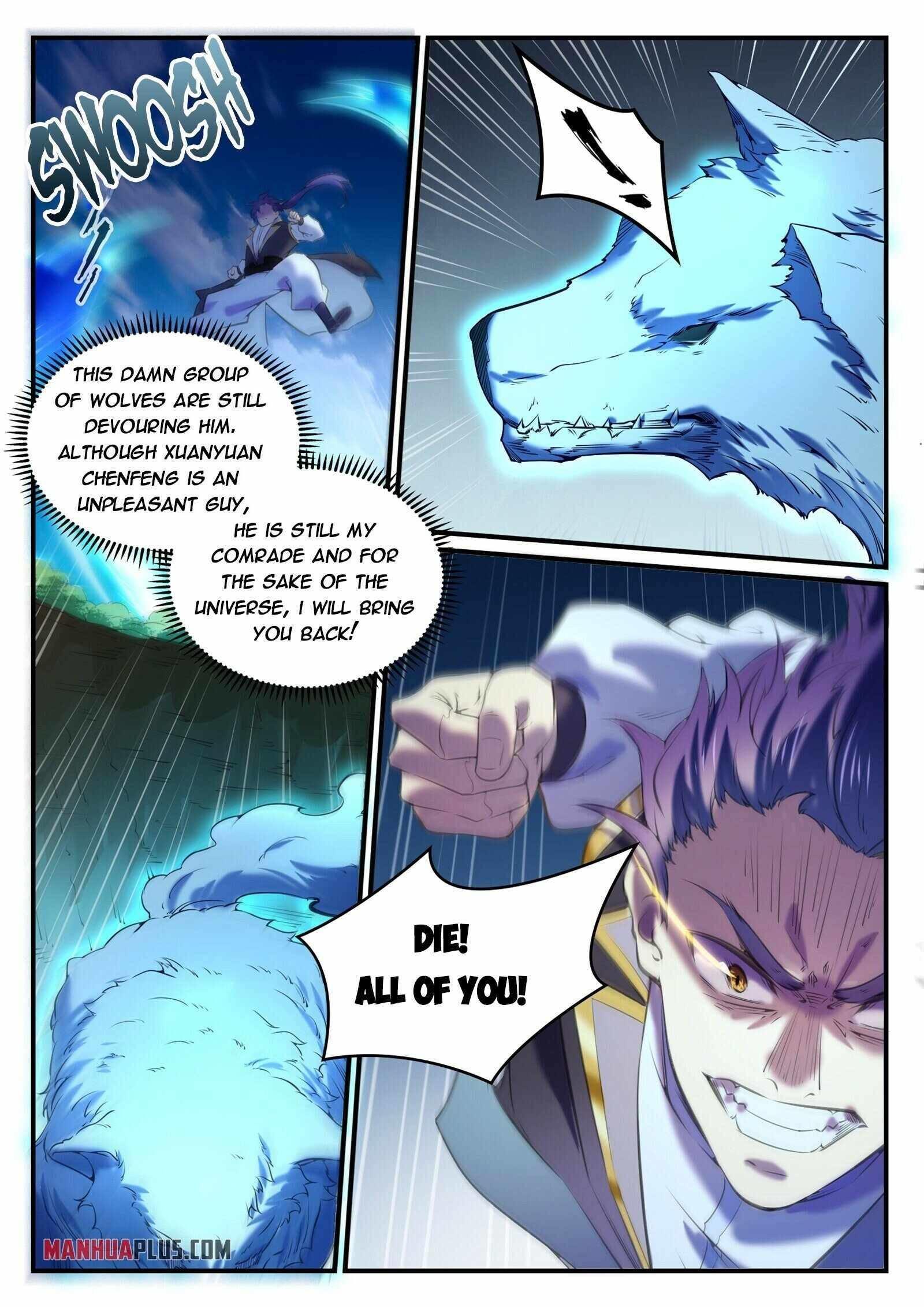 Apotheosis Chapter 808 page 12 - Mangakakalots.com