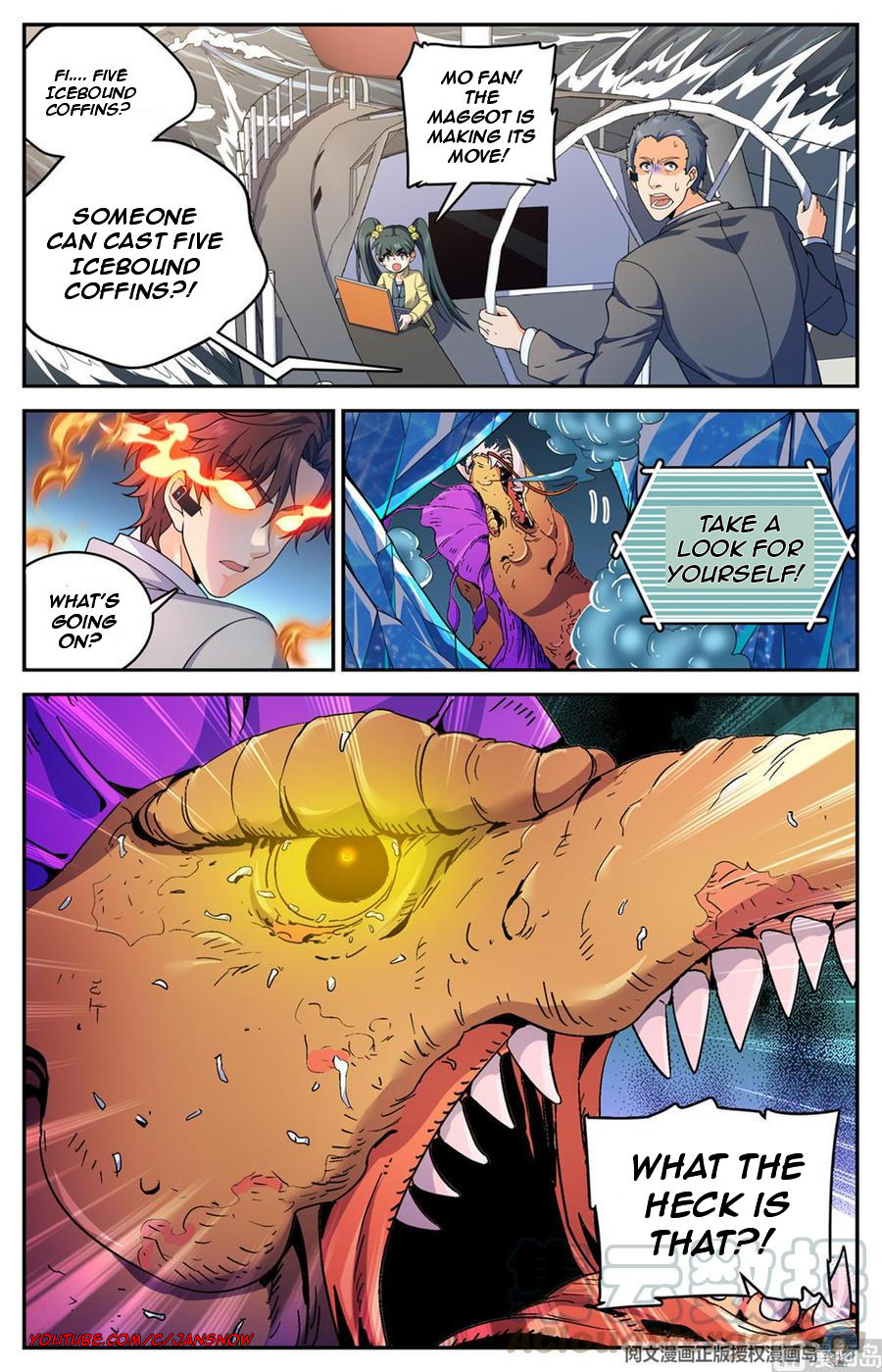 Versatile Mage Chapter 651 page 11 - Mangakakalots.com