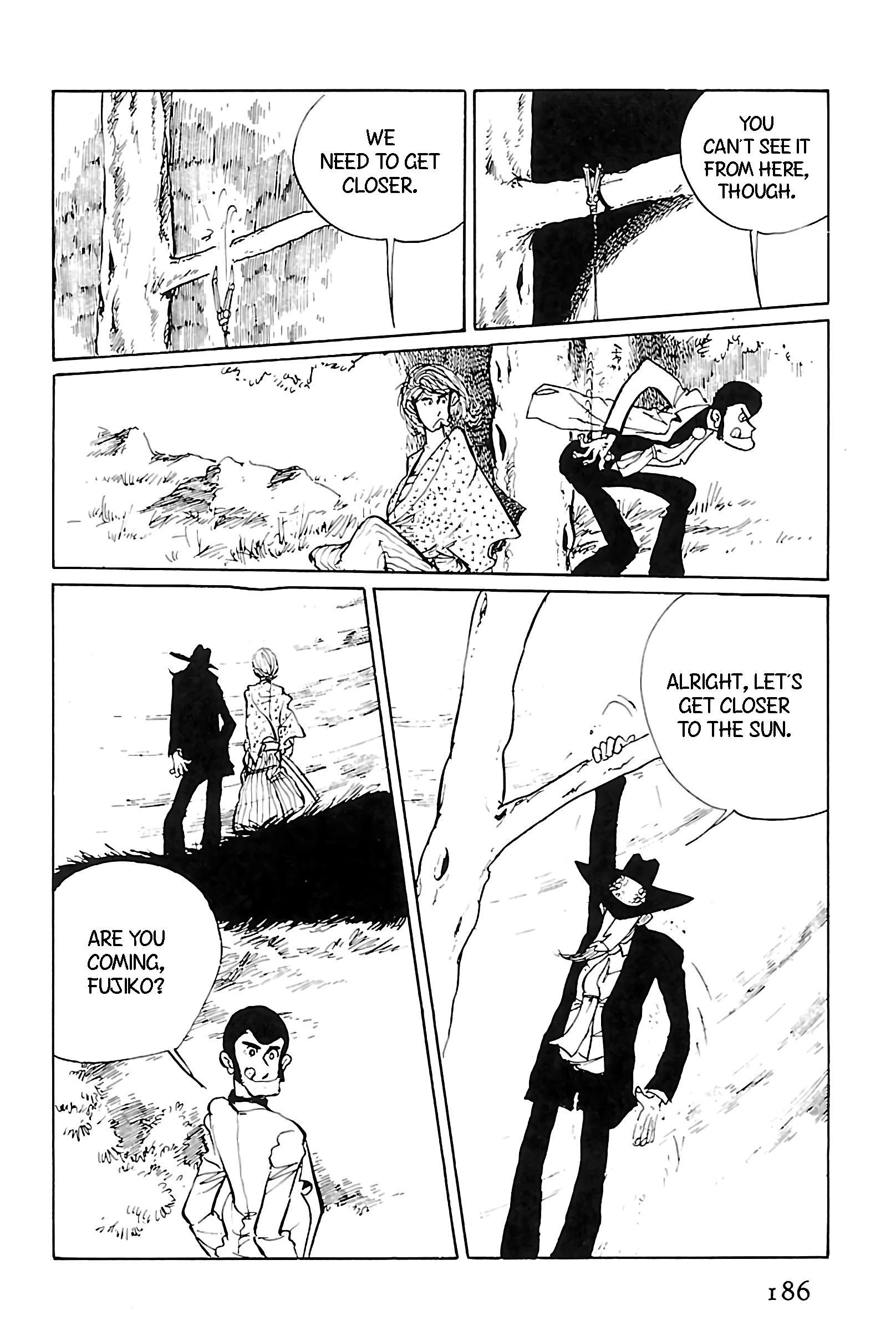 Lupin Iii: World'S Most Wanted Vol.11 Chapter 124: Happy New Year, Lupin! page 8 - Mangakakalots.com