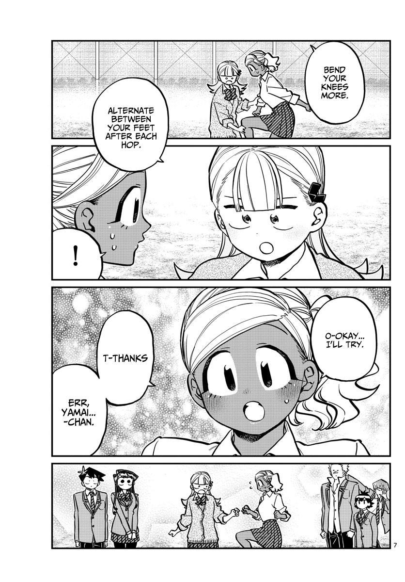 Komi-San Wa Komyushou Desu Chapter 249: Skipping page 7 - Mangakakalot