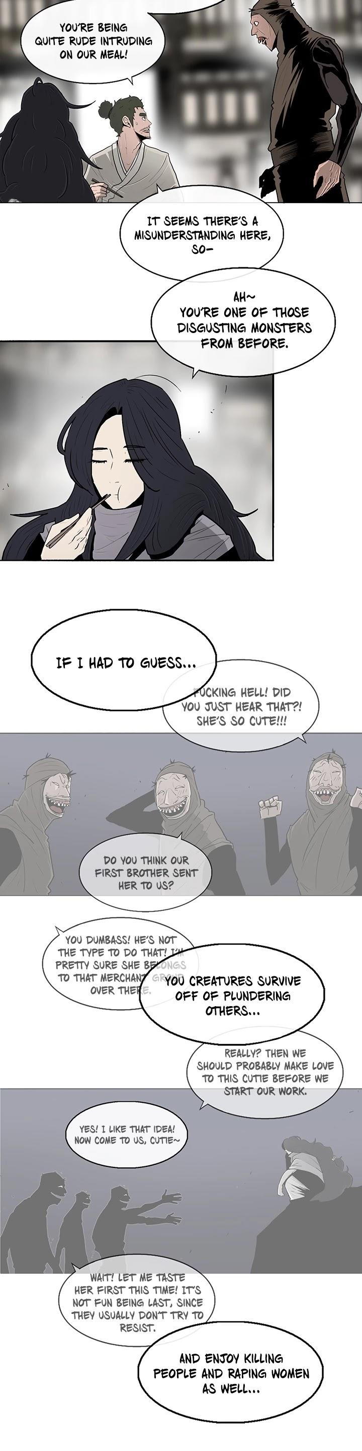 Legend Of The Northern Blade Chapter 89 page 21 - Mangakakalots.com