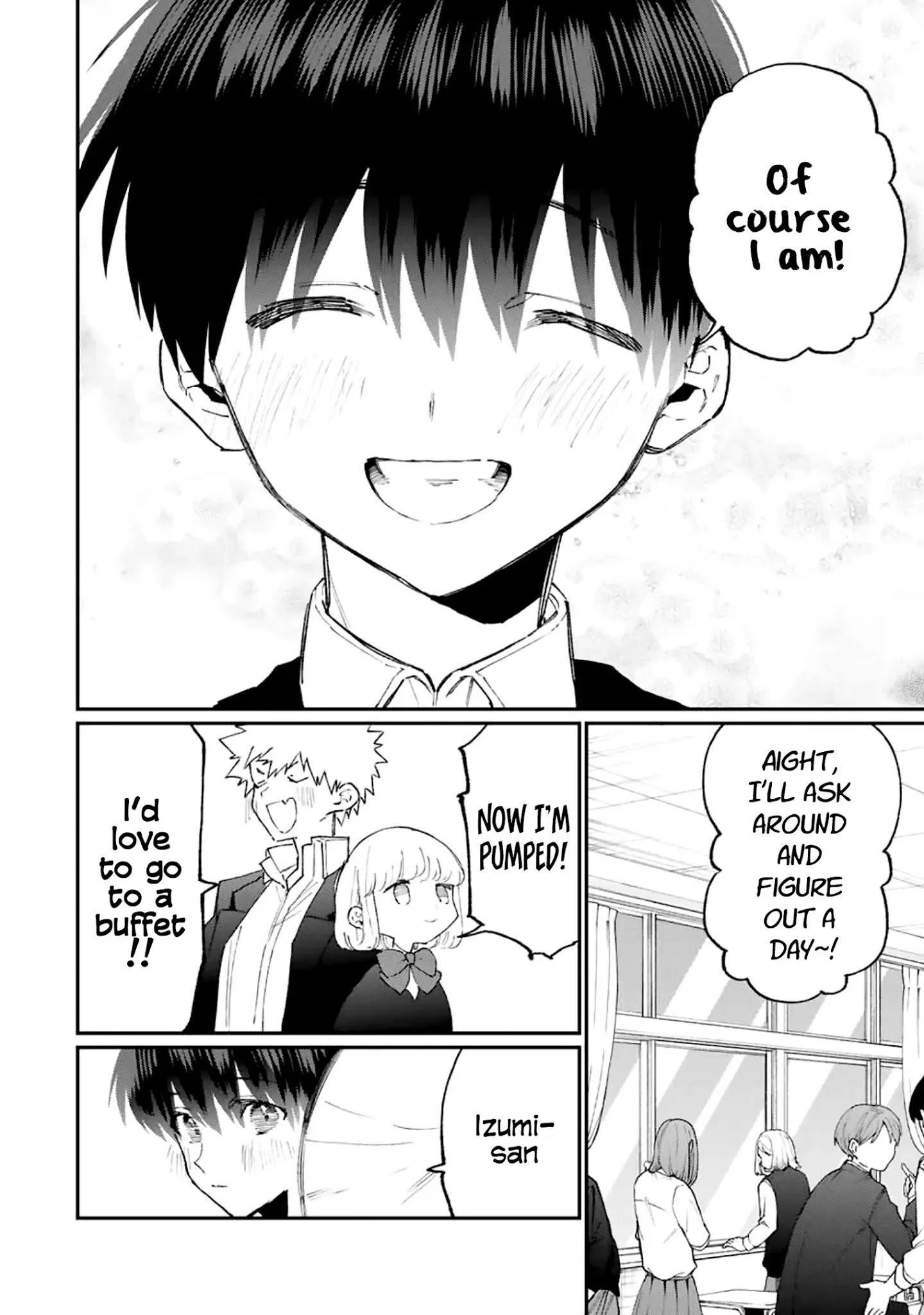 Shikimori's Not Just A Cutie Chapter 115 page 12 - Mangakakalots.com