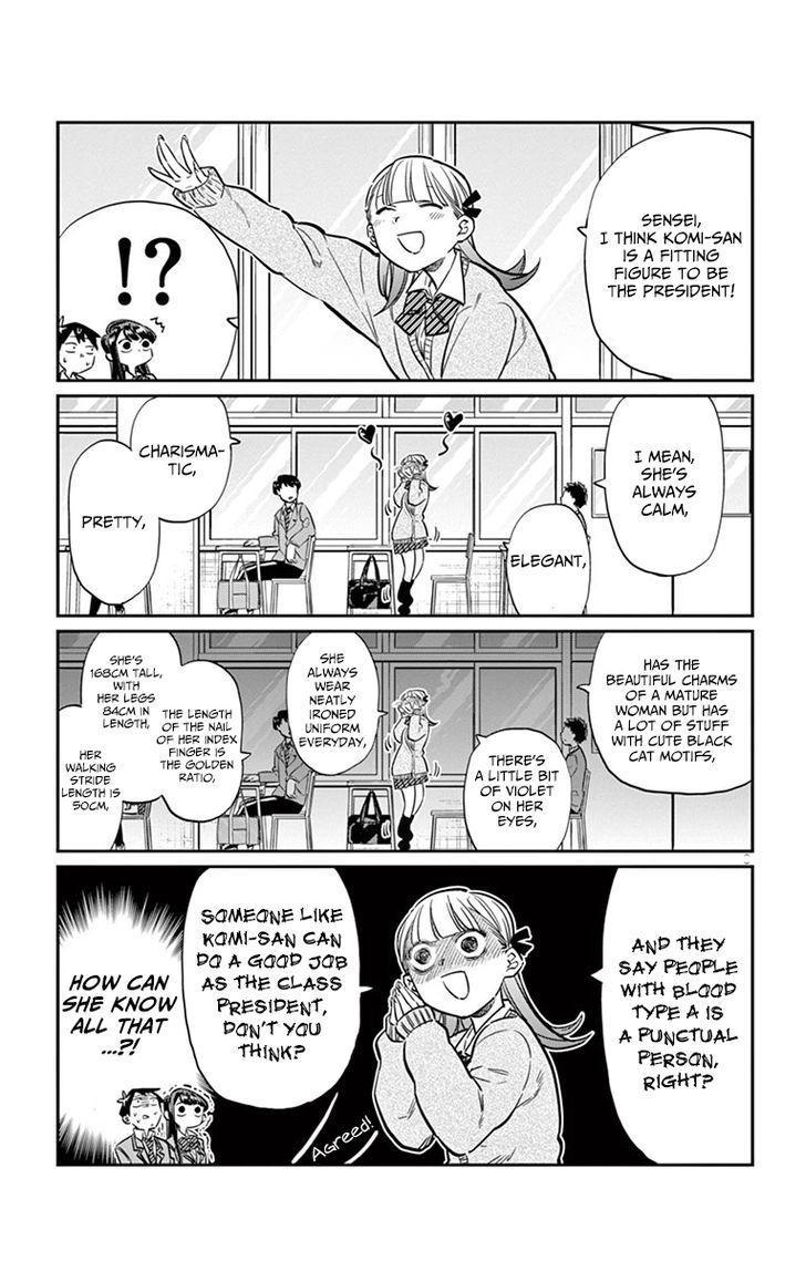 Komi-San Wa Komyushou Desu Vol.1 Chapter 17: Class Decision page 3 - Mangakakalot
