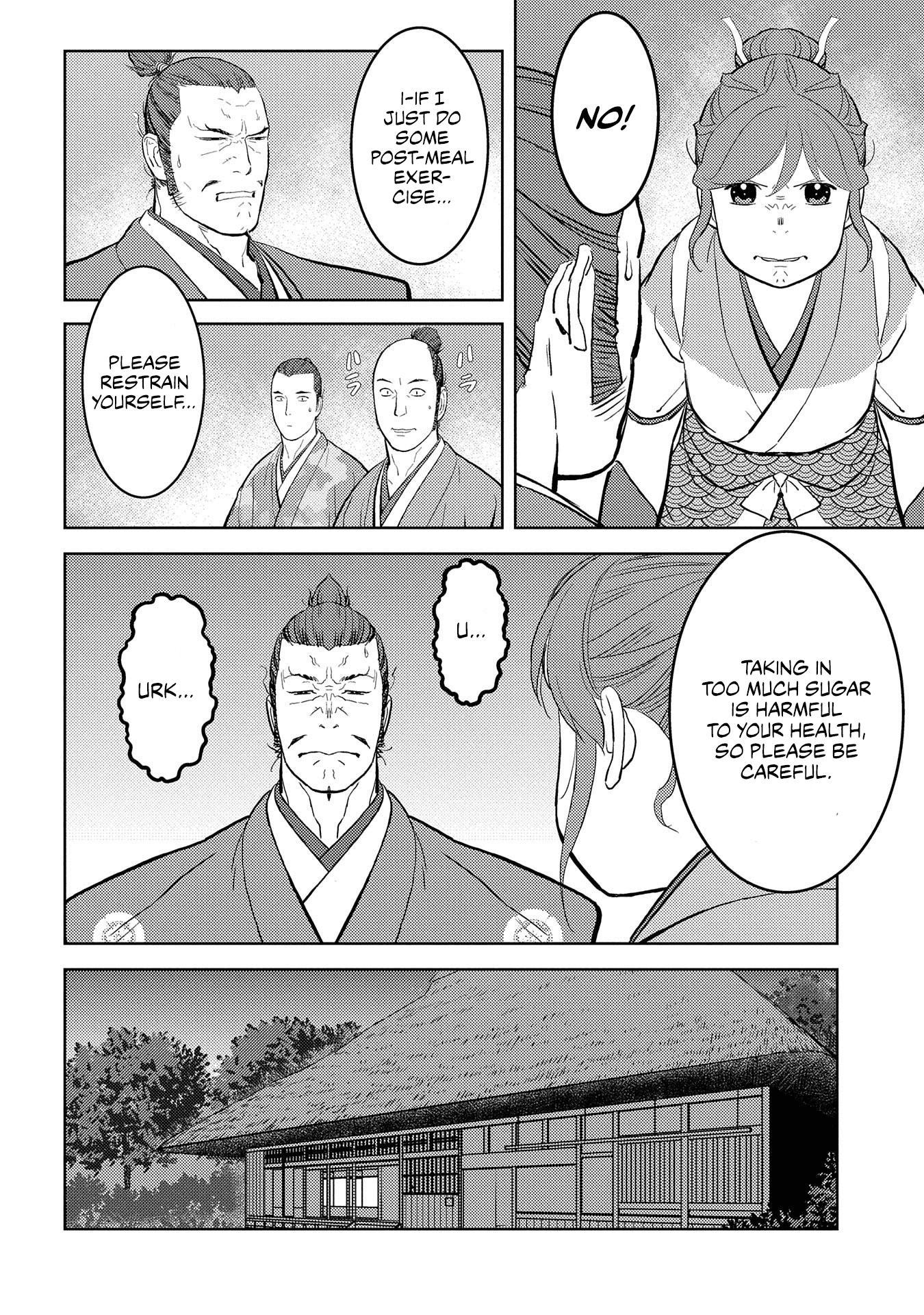 Sengoku Komachi Kurou Tan! Chapter 40 page 16 - Mangakakalots.com