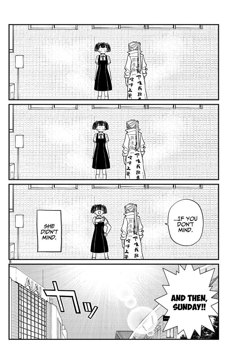 Komi-San Wa Komyushou Desu Chapter 198: Out & Law ~The Movie~ page 11 - Mangakakalot
