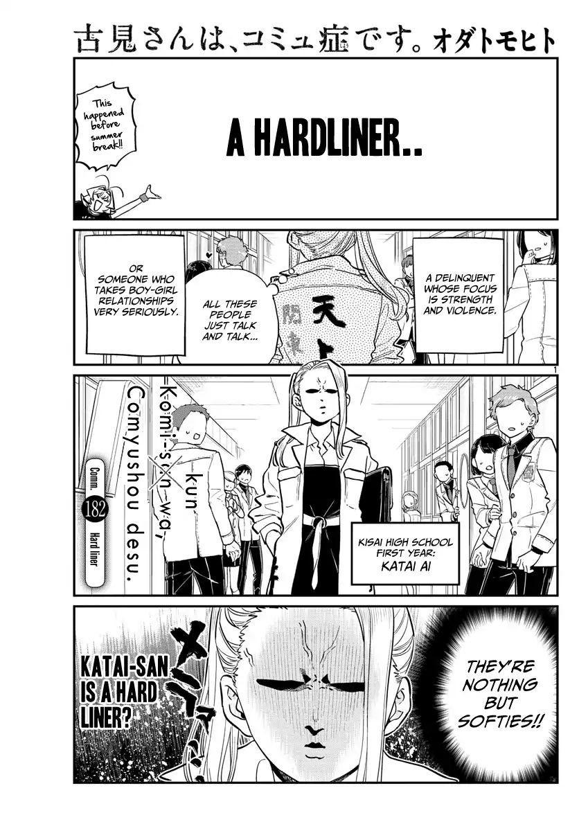 Komi-San Wa Komyushou Desu Vol.13 Chapter 182: A Hard Liner page 1 - Mangakakalot