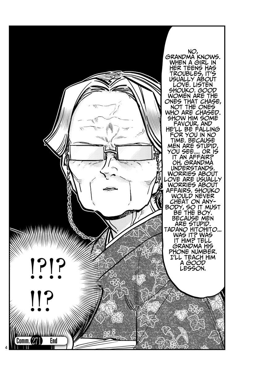 Komi-San Wa Komyushou Desu Chapter 271: End Of Year Report page 4 - Mangakakalot