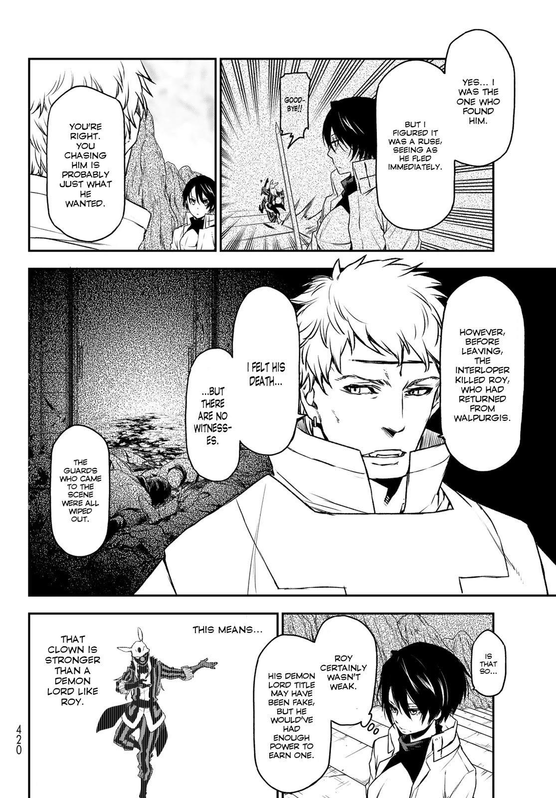 Tensei Shitara Slime Datta Ken Chapter 87: God's Right Hand page 10 - Mangakakalots.com