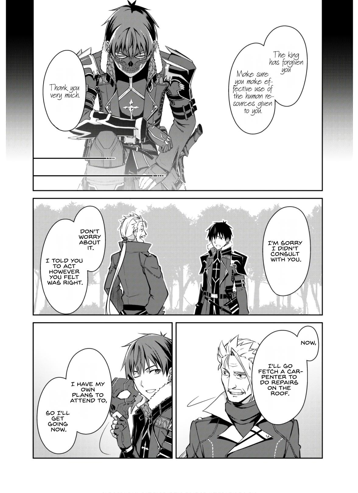 Berserk Of Gluttony Chapter 32: The Unchangeable Place page 21 - Mangakakalots.com
