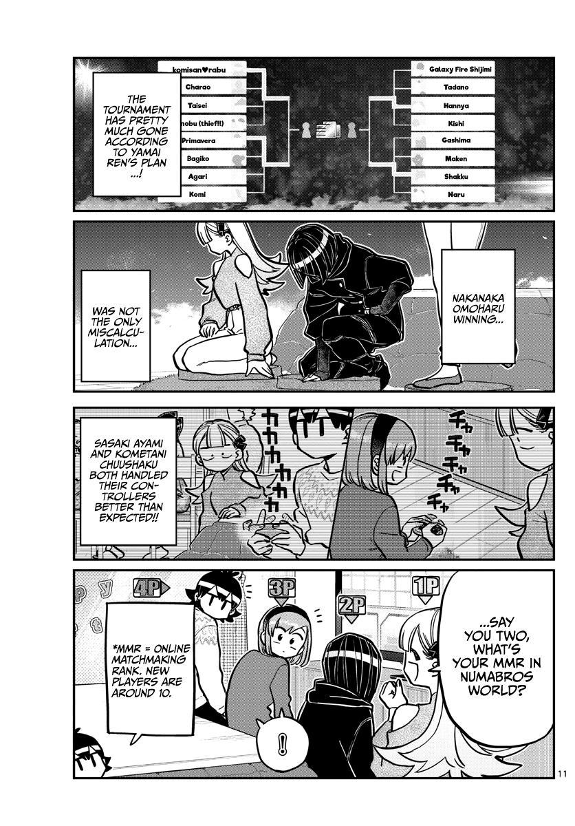 Komi-San Wa Komyushou Desu Chapter 270: Numabros Tournament page 11 - Mangakakalot