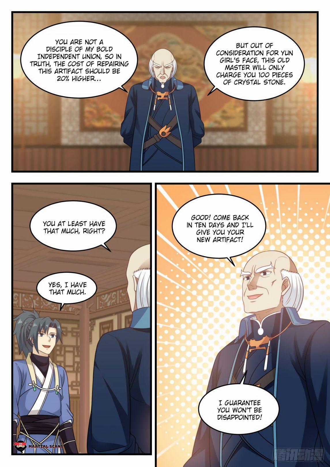Martial Peak Chapter 592 page 13 - Mangakakalots.com
