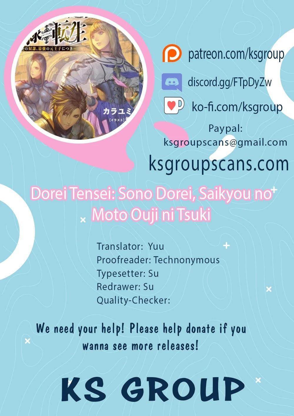 Dorei Tensei: Sono Dorei, Saikyou No Moto Ouji Ni Tsuki Chapter 33 page 1 - Mangakakalots.com