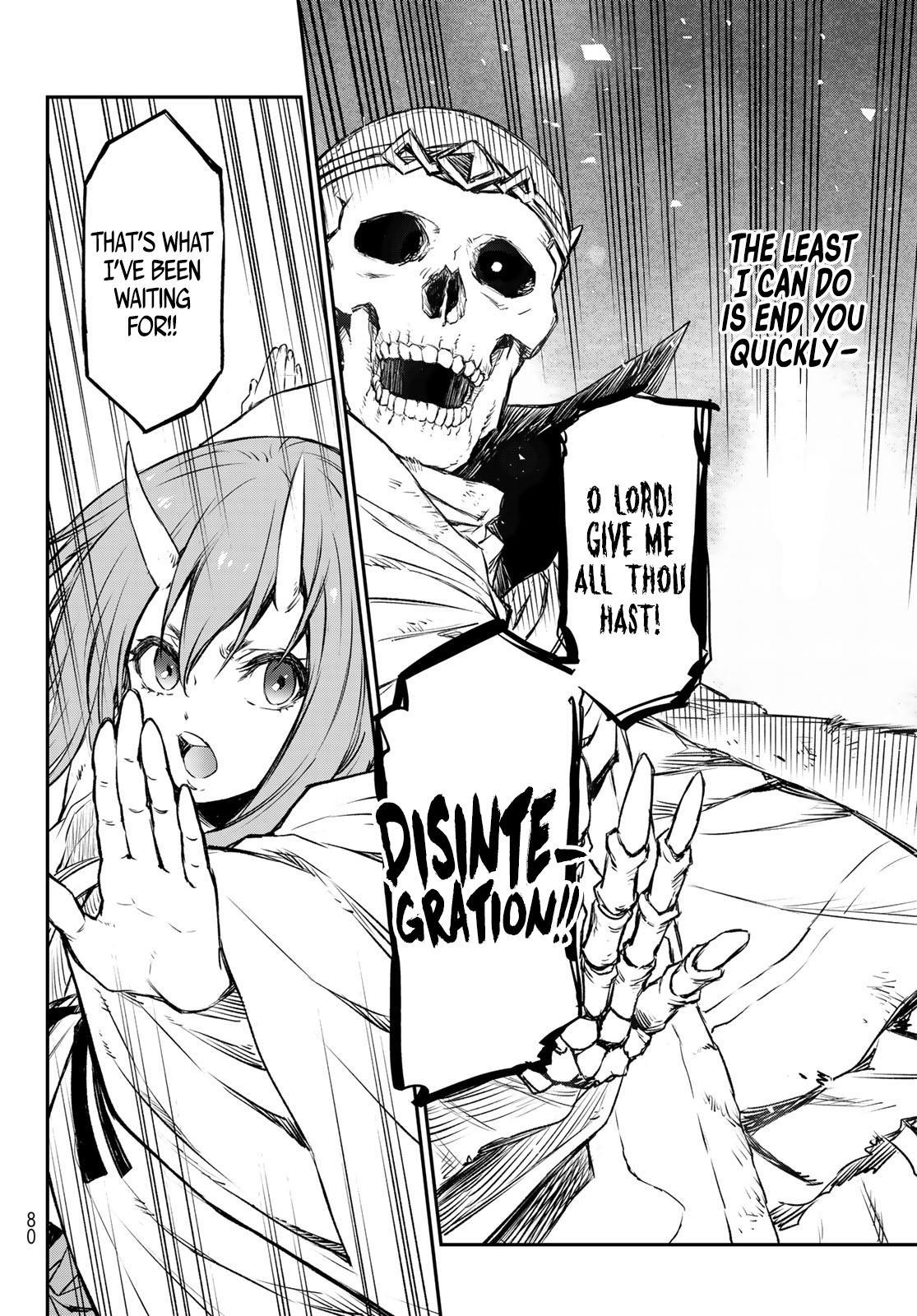 Tensei Shitara Slime Datta Ken Chapter 81: The Wight King page 58 - Mangakakalots.com