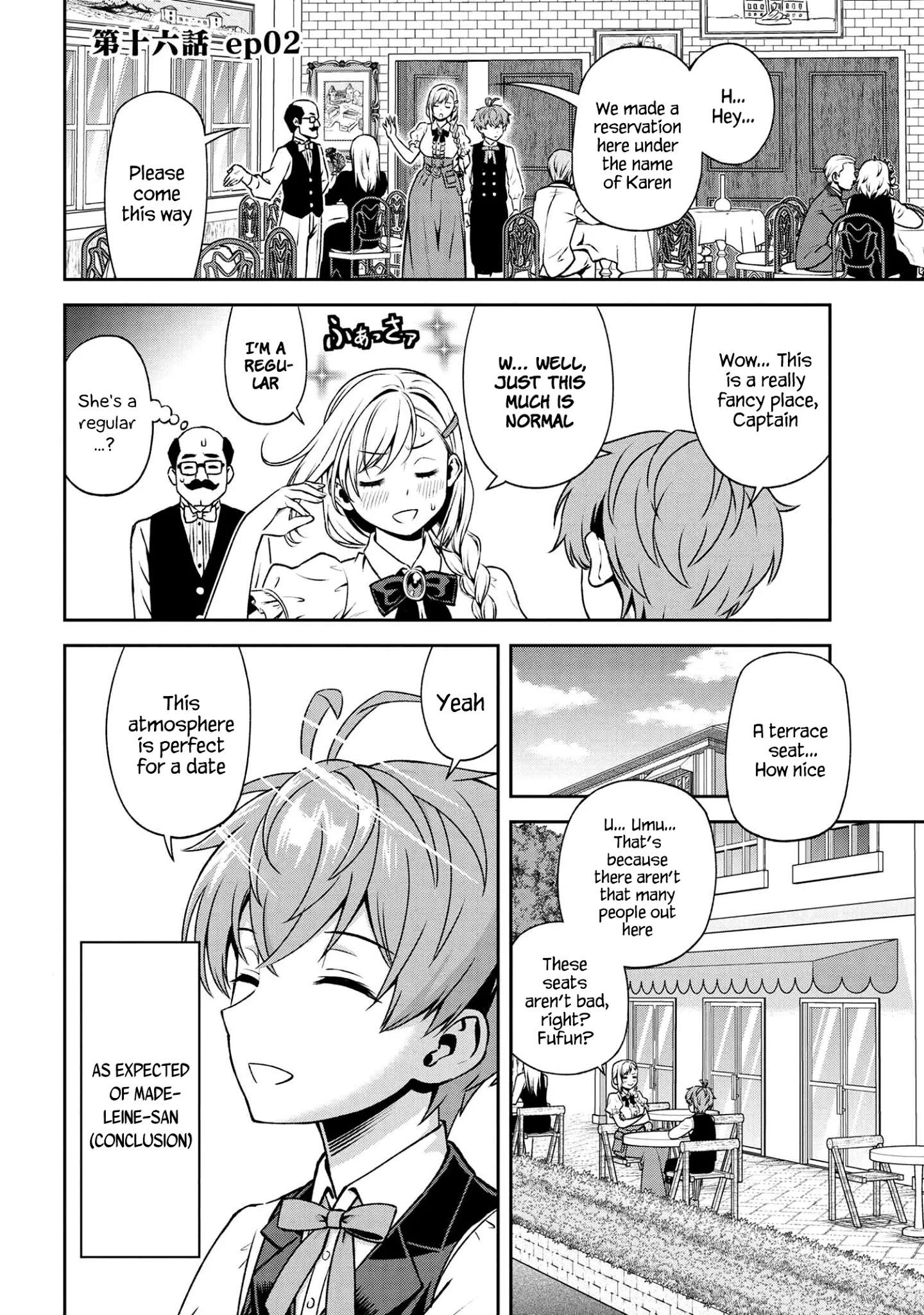 Older Elite Knight Is Cute Only In Front Of Me Chapter 16.2 page 1 - Mangakakalots.com