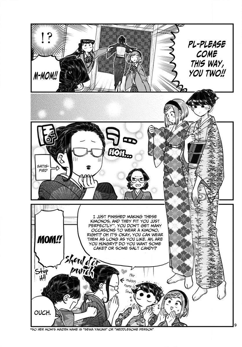 Komi-San Wa Komyushou Desu Vol.11 Chapter 149: Katou-San's Home page 9 - Mangakakalot