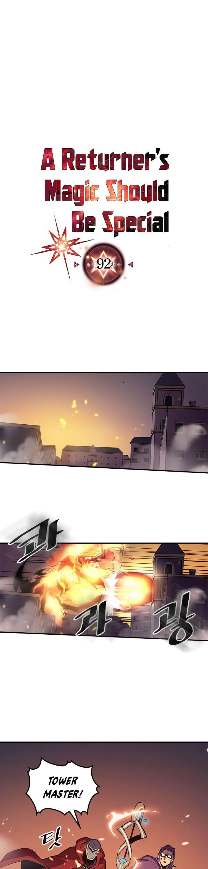 A Returner's Magic Should Be Special Chapter 92 page 2 - Mangakakalots.com