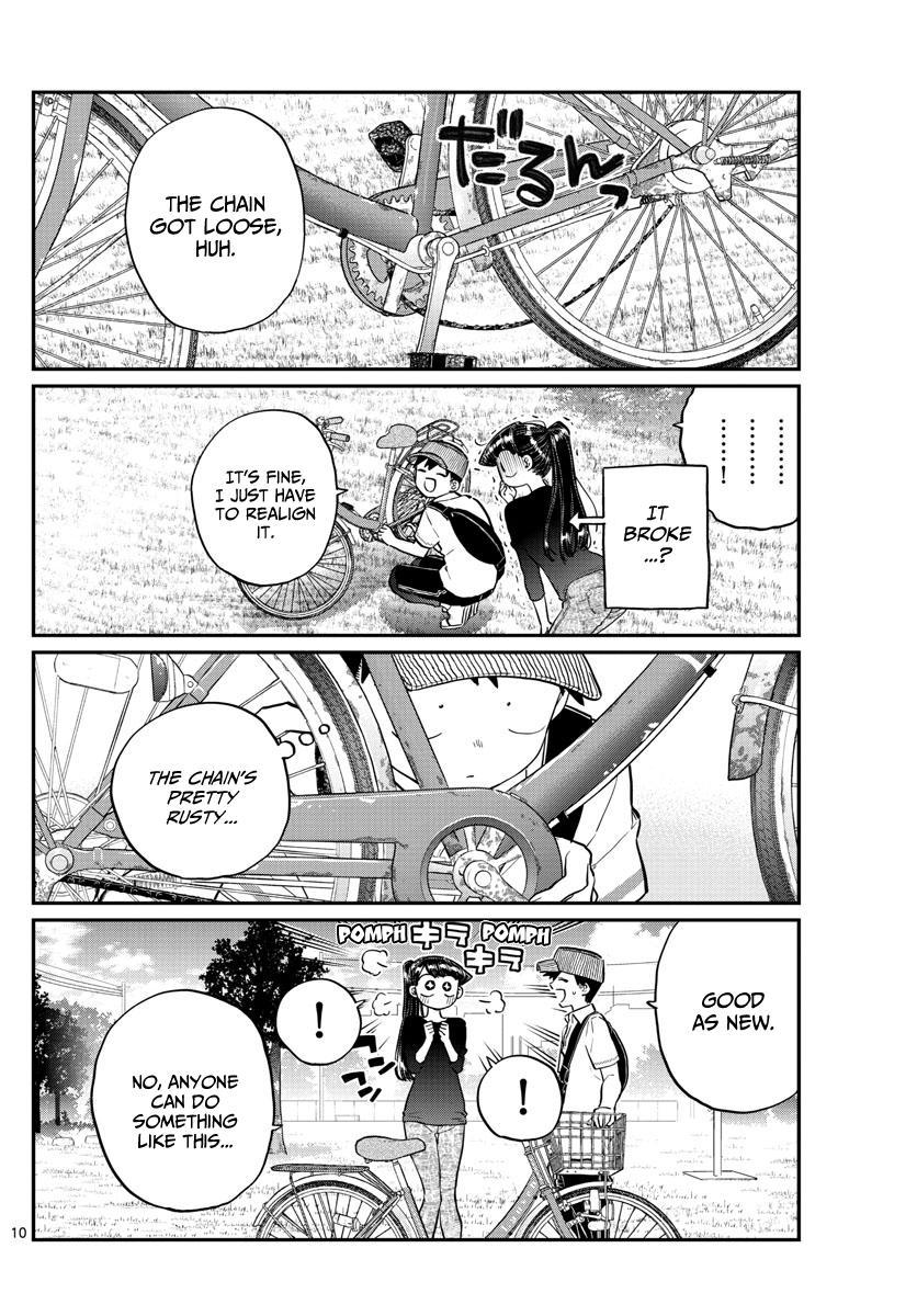 Komi-San Wa Komyushou Desu Chapter 187: Bike Practice page 11 - Mangakakalot