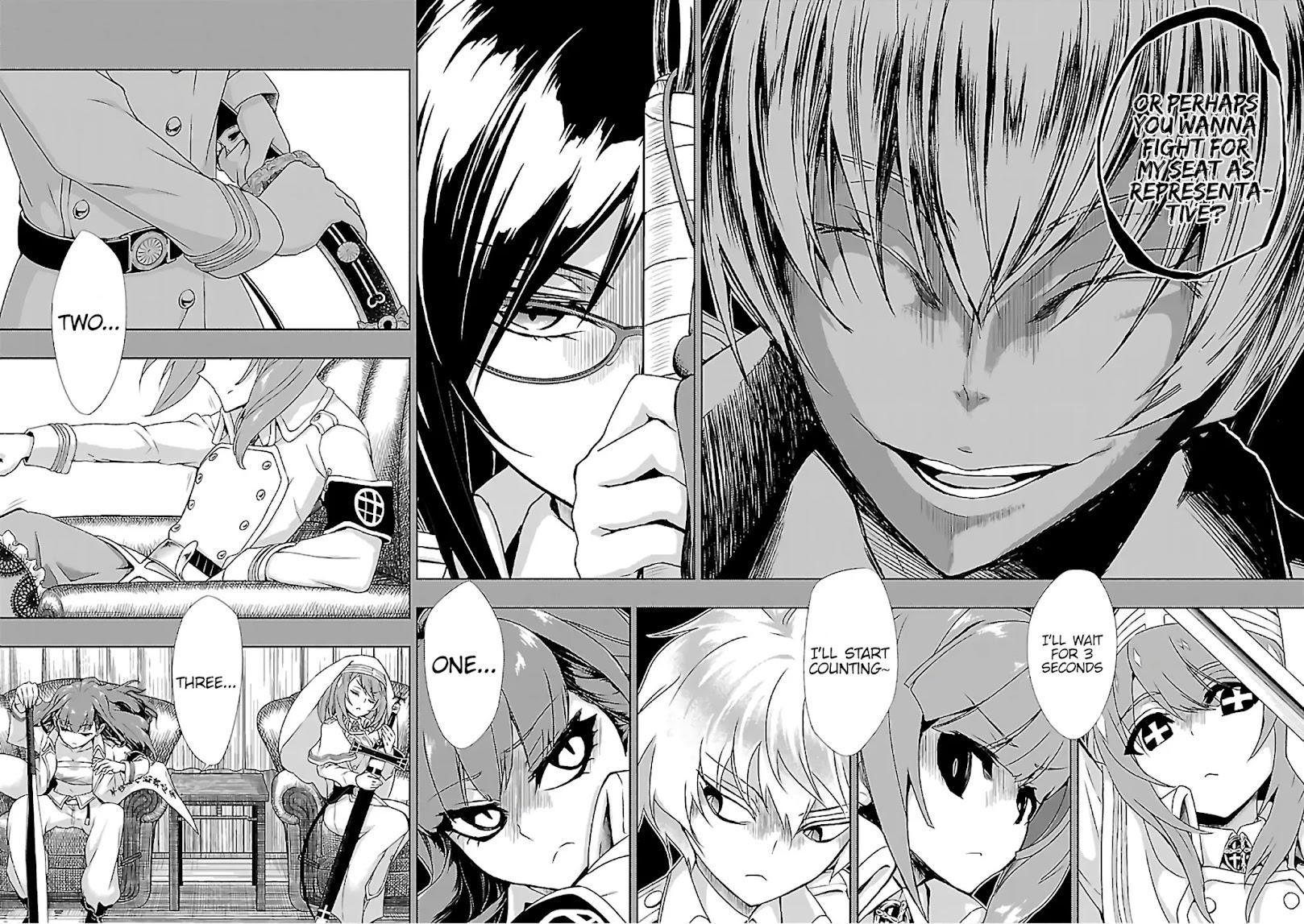 Busou Shoujo Machiavellianism Chapter 35: Sudden page 24 - Mangakakalots.com