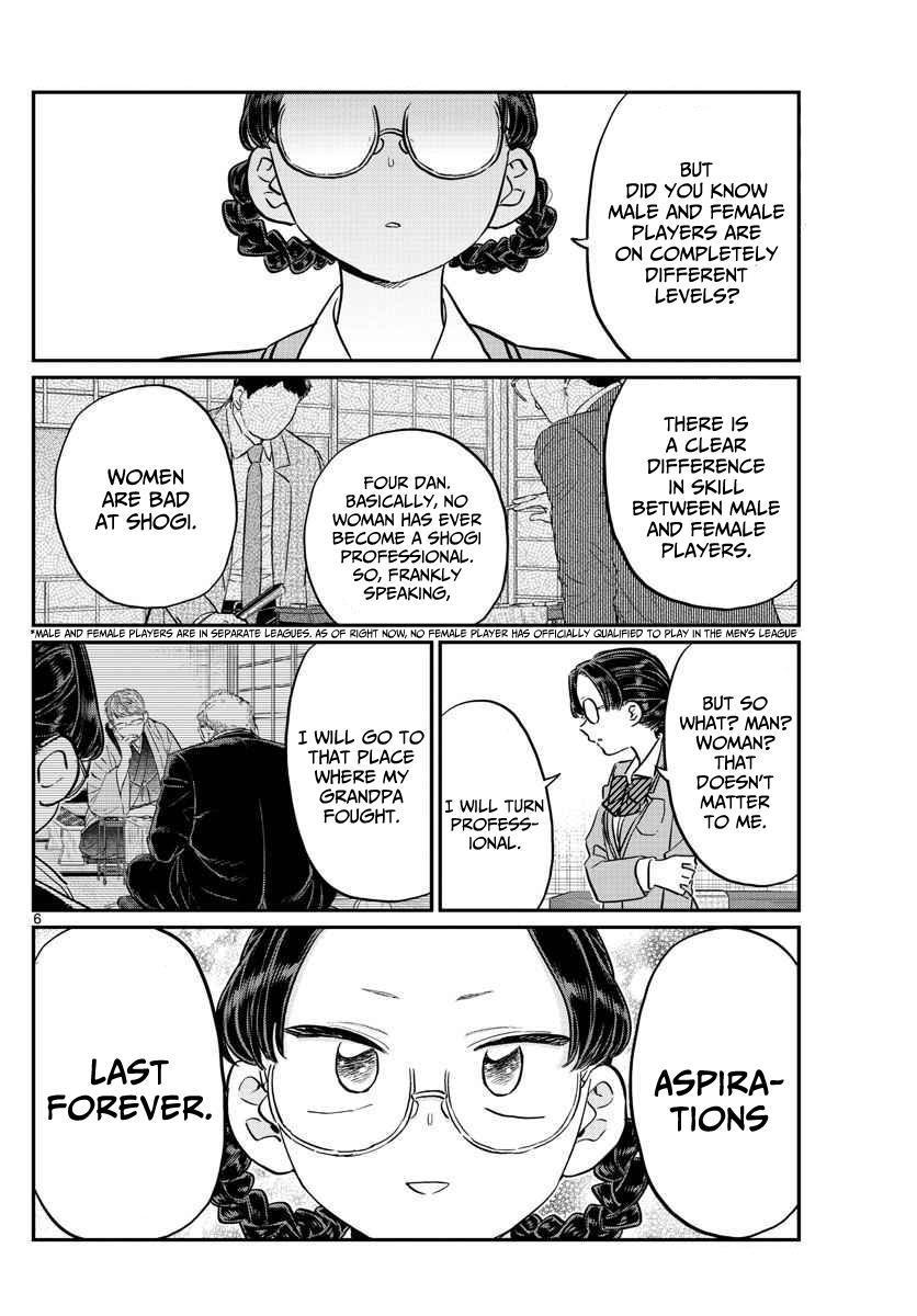 Komi-San Wa Komyushou Desu Vol.8 Chapter 111: Yo-Yo Hannya page 6 - Mangakakalot