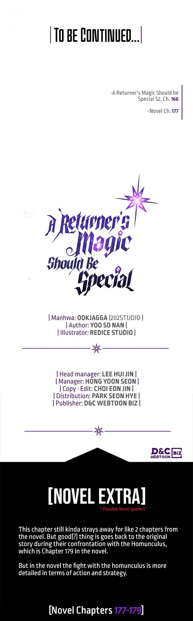 A Returner's Magic Should Be Special Chapter 166 page 35 - Mangakakalots.com