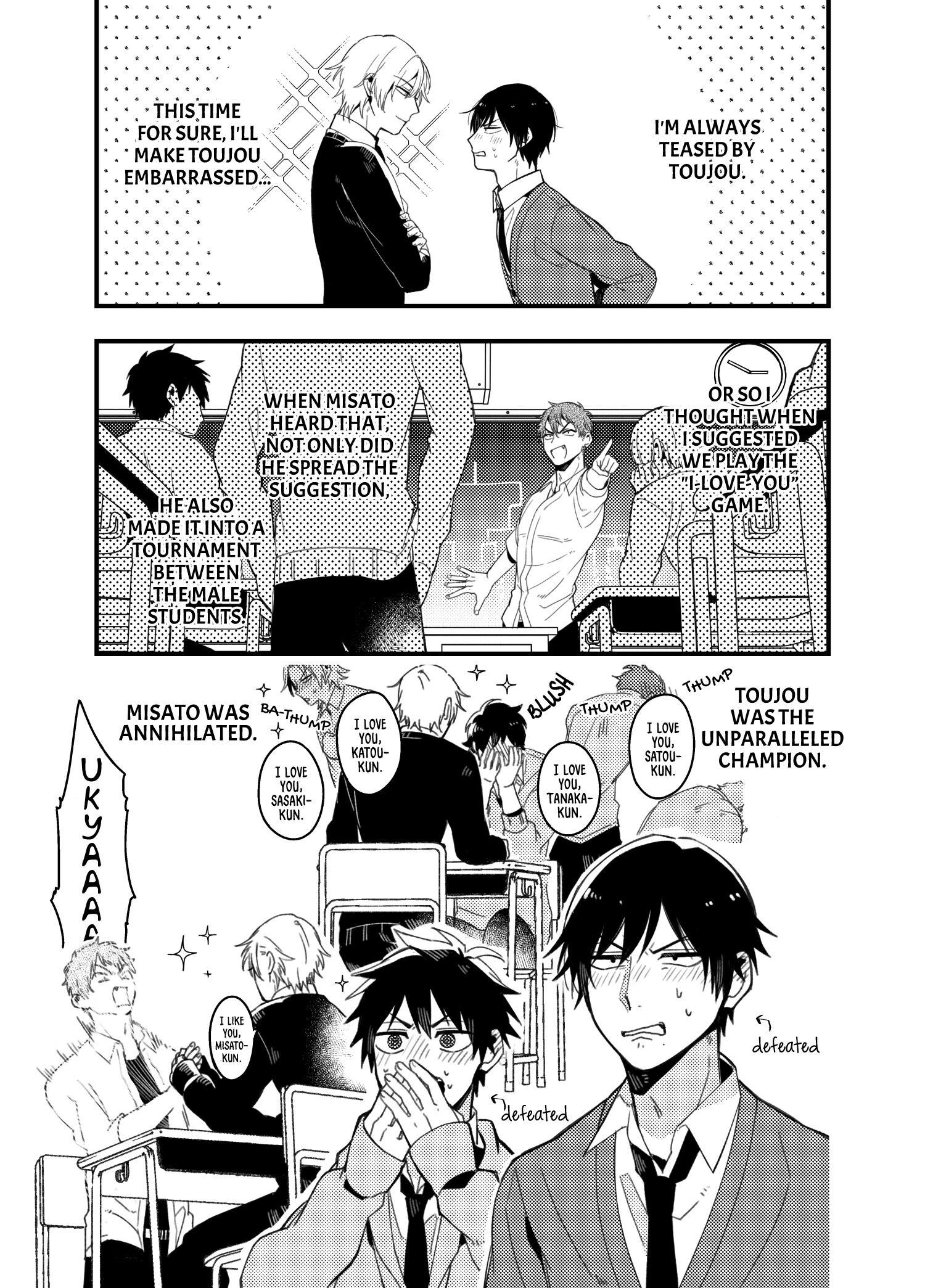 A World Where Everything Definitely Becomes Bl Vs. The Man Who Definitely Doesn't Want To Be In A Bl Volume 2 Chapter 35.6 : Twitter Comics page 22 - Mangakakalots.com