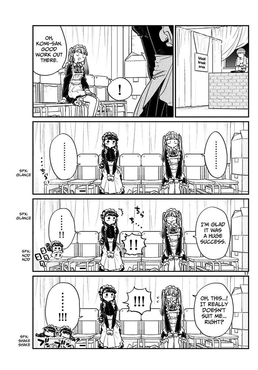 Komi-San Wa Komyushou Desu Vol.5 Chapter 68: Tadano-Kun Is A Maid Too page 6 - Mangakakalot