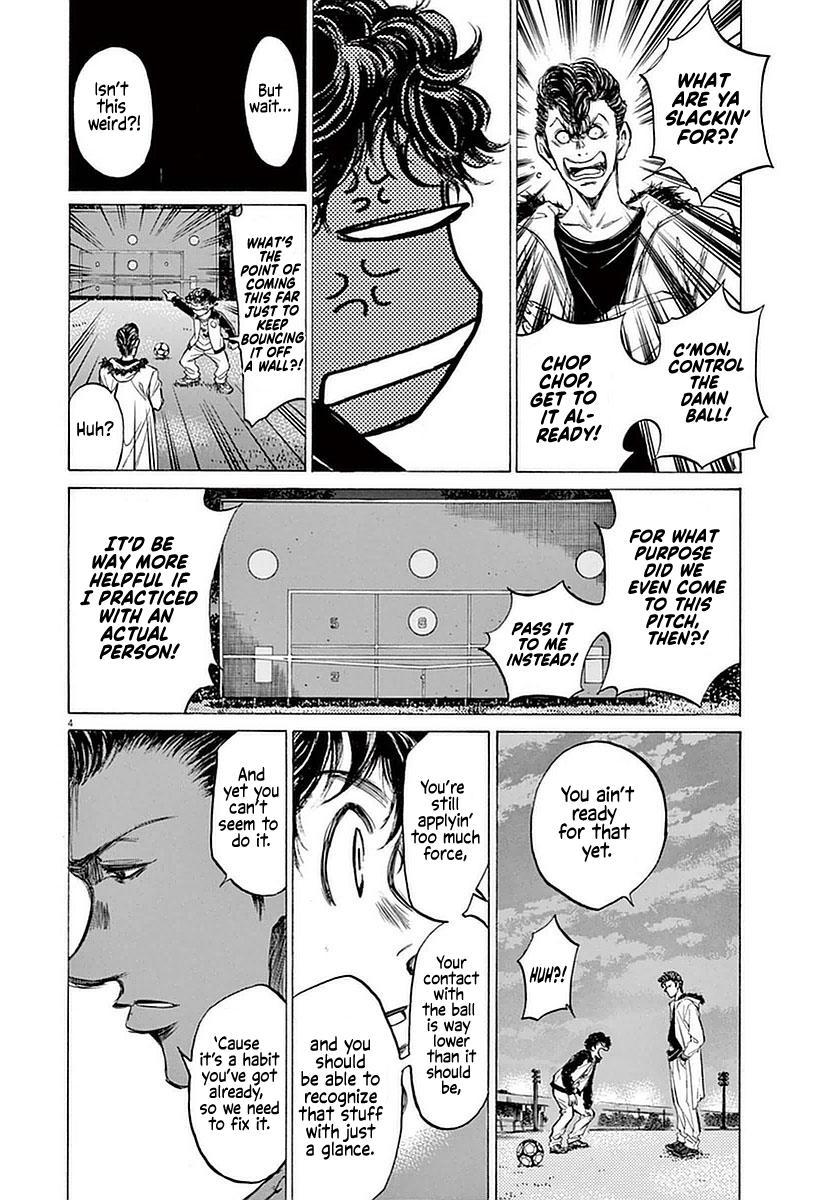 Ao Ashi Vol.4 Chapter 38: The Spartan Pompadour page 4 - Mangakakalots.com