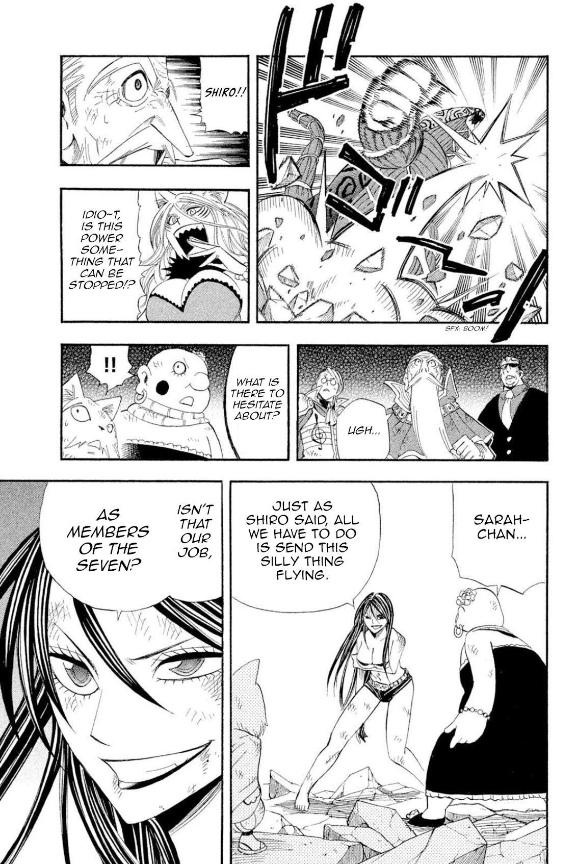 Buster Keel! Chapter 40: Feast Of God (Part 5) page 21 - Mangakakalots.com