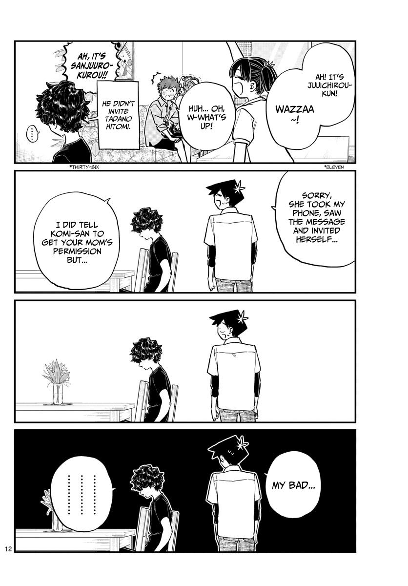 Komi-San Wa Komyushou Desu Chapter 207: Banquet page 12 - Mangakakalot