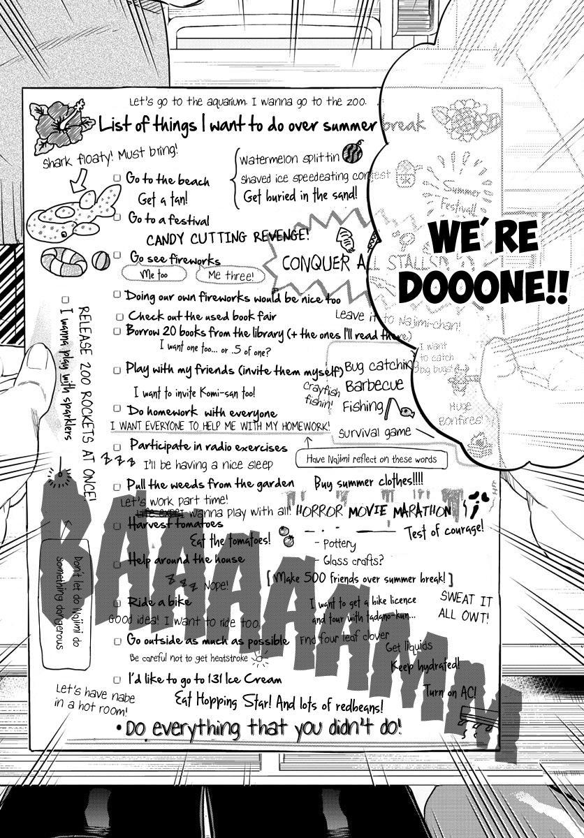 Komi-San Wa Komyushou Desu Vol.12 Chapter 160: List Of Things I Want To Do page 10 - Mangakakalot