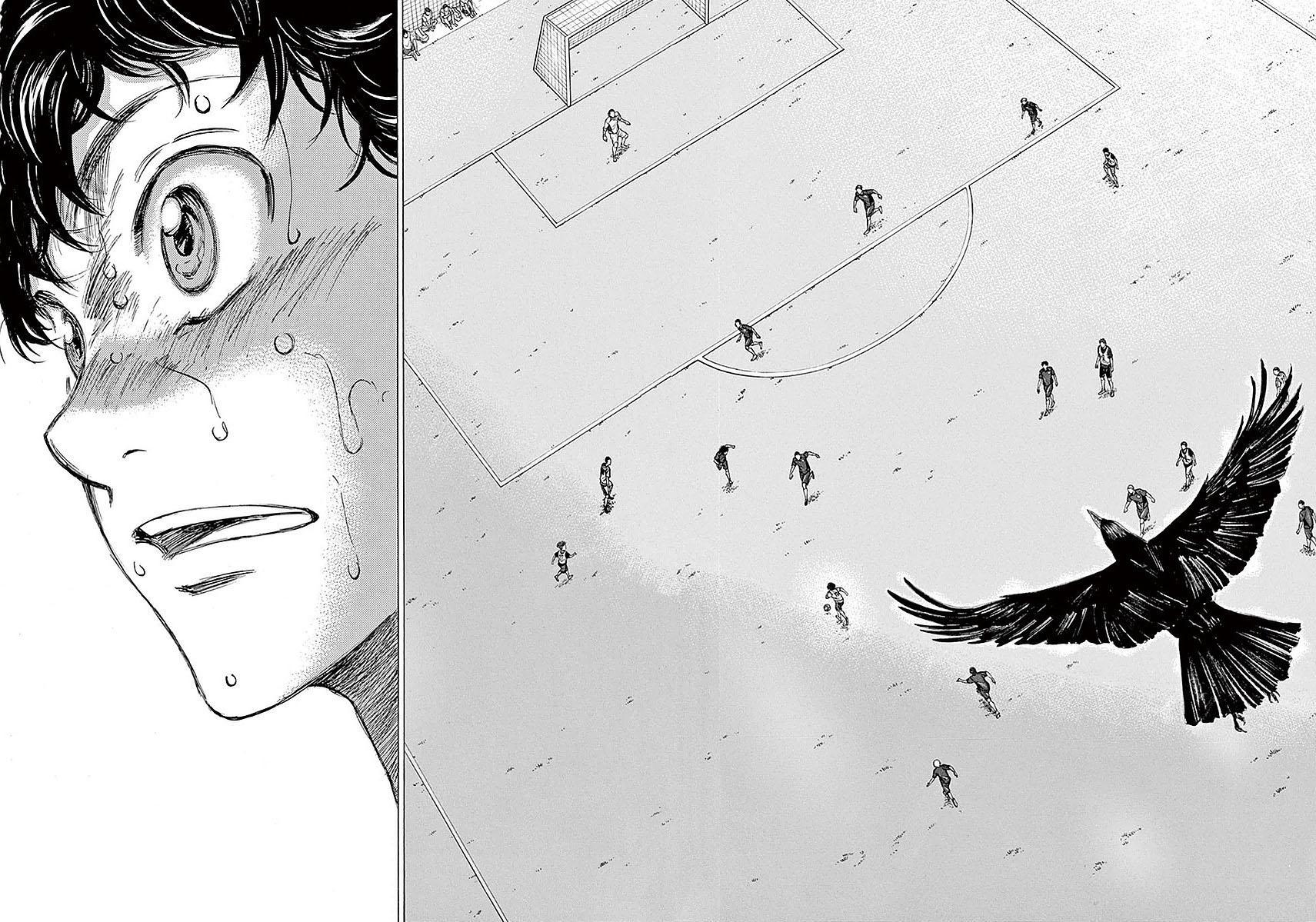 Ao Ashi Vol.2 Chapter 16: Crow page 15 - Mangakakalots.com