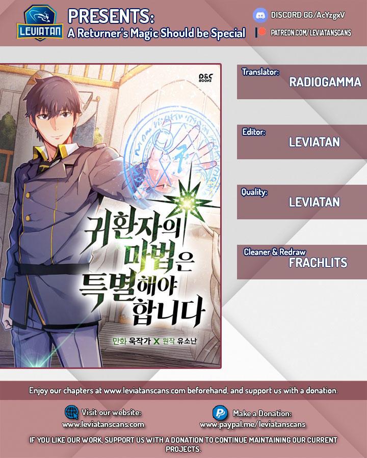 A Returner's Magic Should Be Special Chapter 62 page 1 - Mangakakalots.com