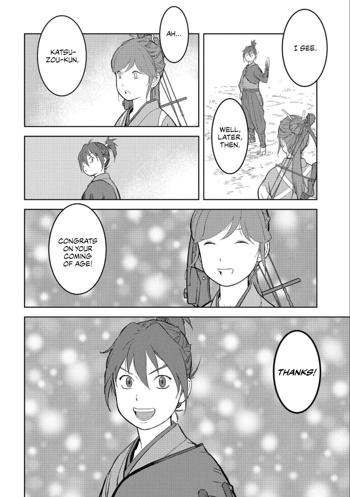 Sengoku Komachi Kurou Tan! Chapter 41 page 27 - Mangakakalots.com