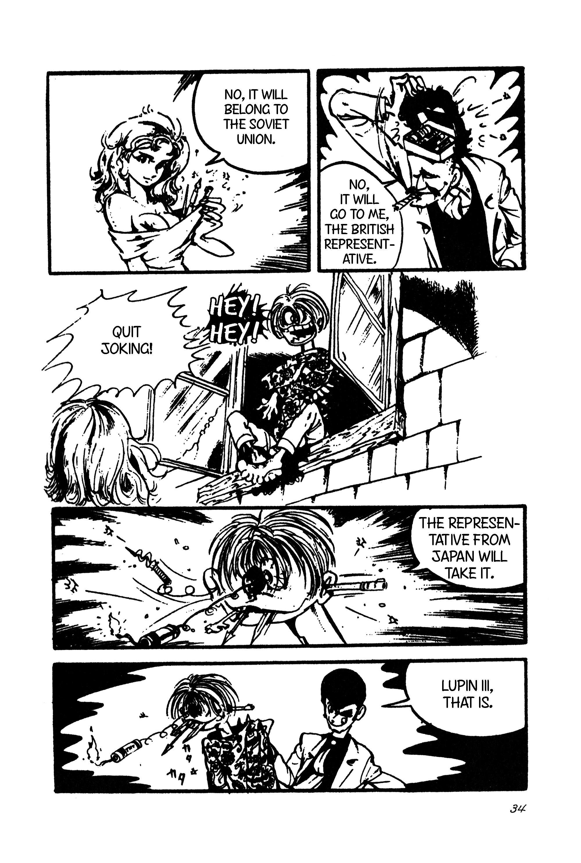 Lupin Iii Vol.9 Chapter 101: International Thievery Competition (Part 2) page 5 - Mangakakalots.com