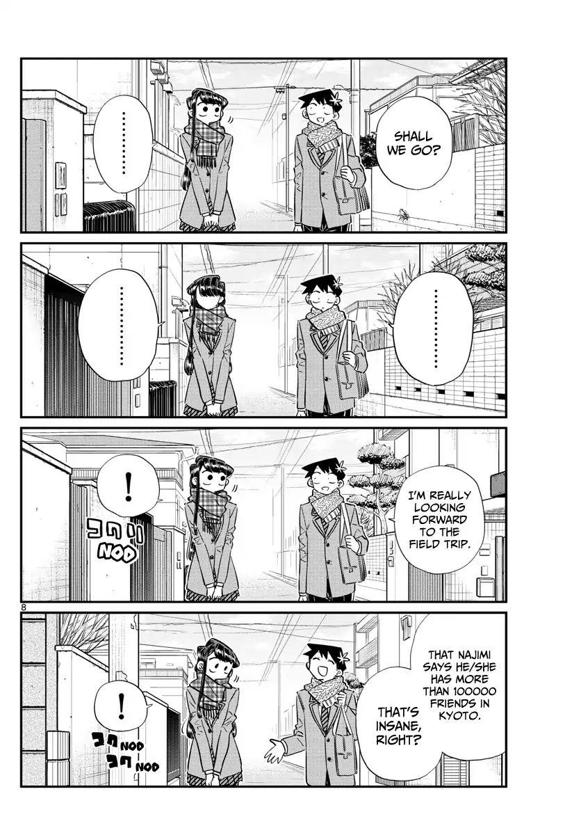 Komi-San Wa Komyushou Desu Vol.8 Chapter 103: Deciding The Groups For The Field Trip page 8 - Mangakakalot