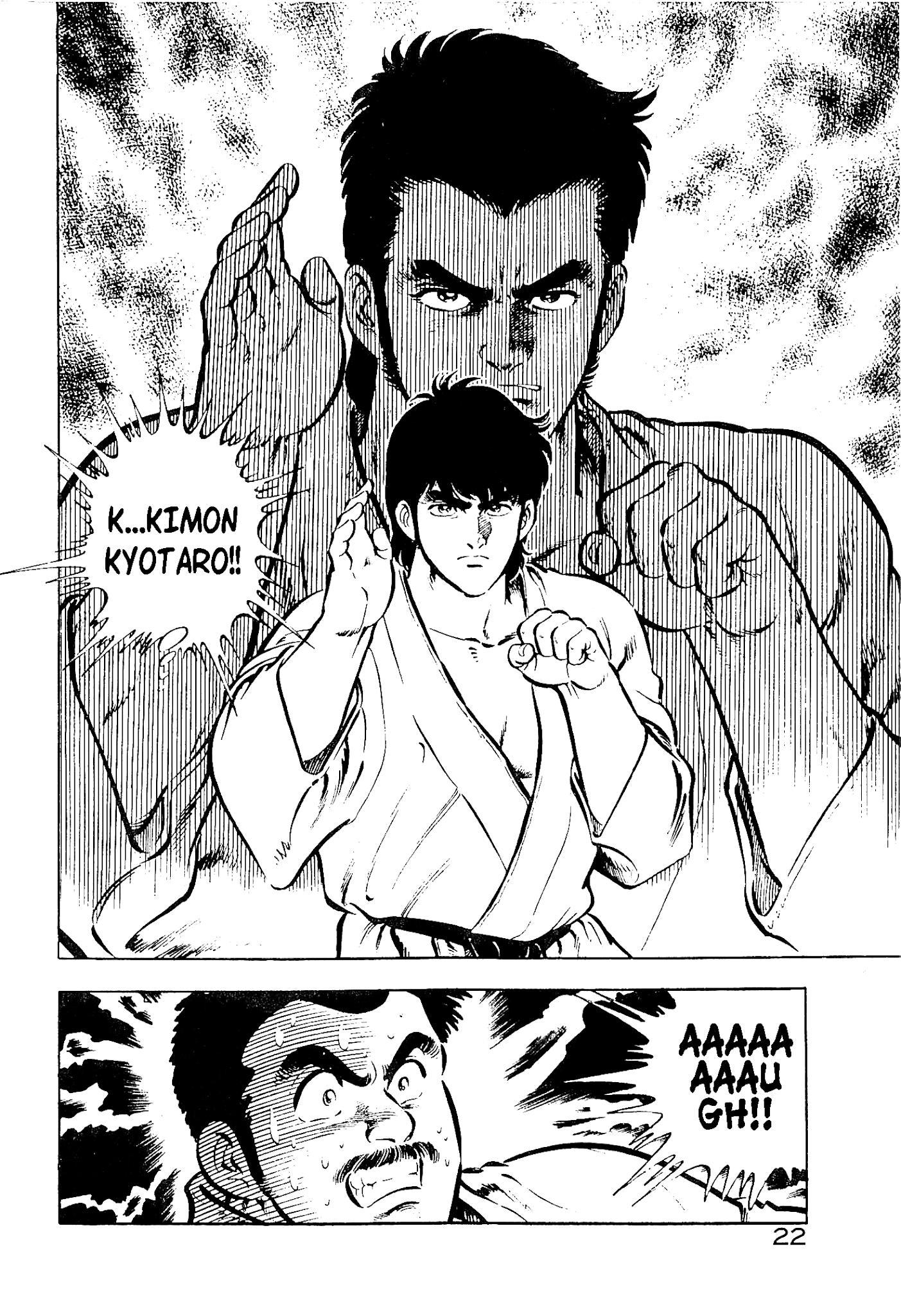 Karate Apocalypse Chapter 7: The Hand Of Evil page 22 - Mangakakalots.com